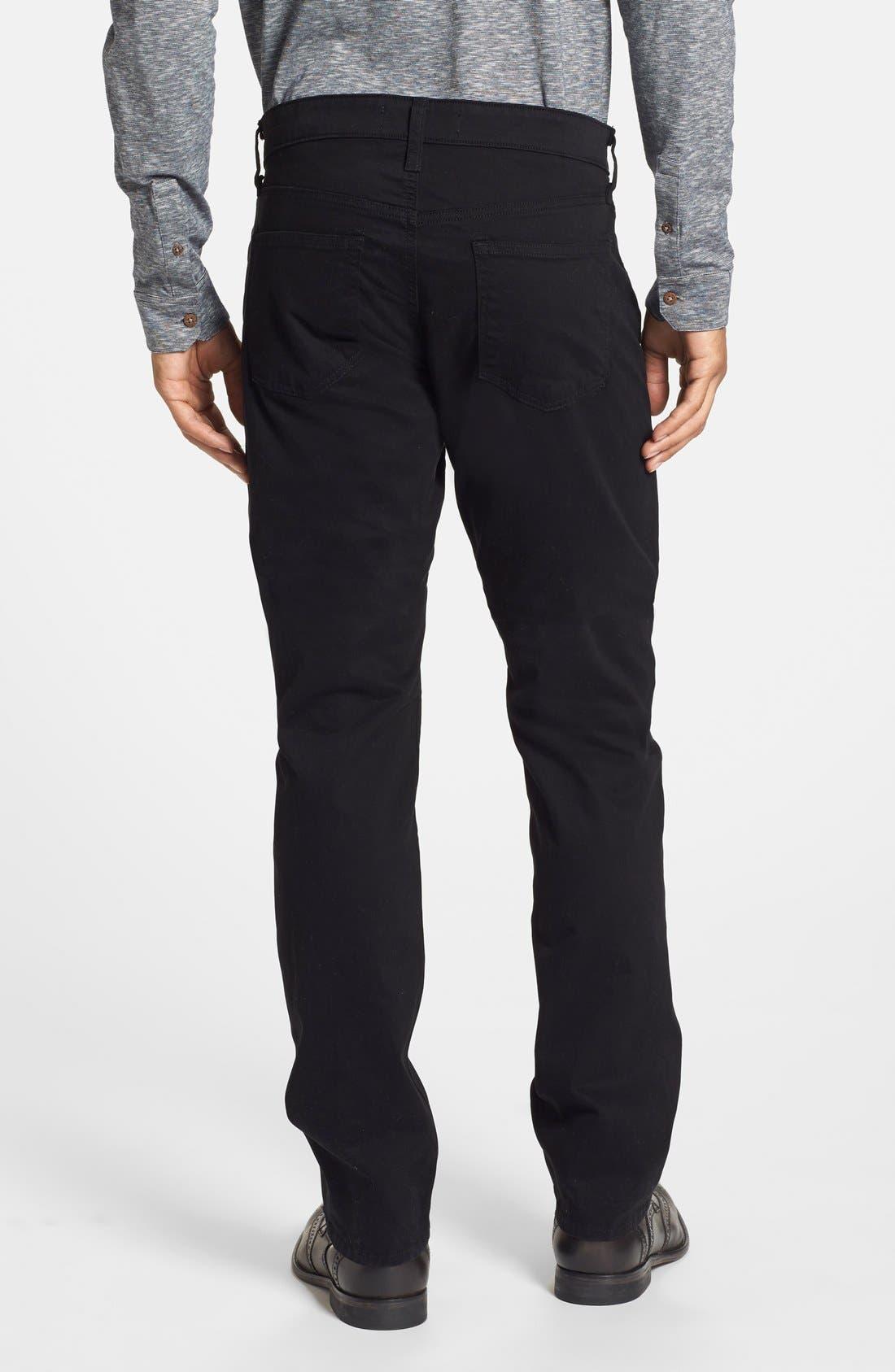 'Kane' Slim Fit Cotton Twill Pants,                             Alternate thumbnail 73, color,