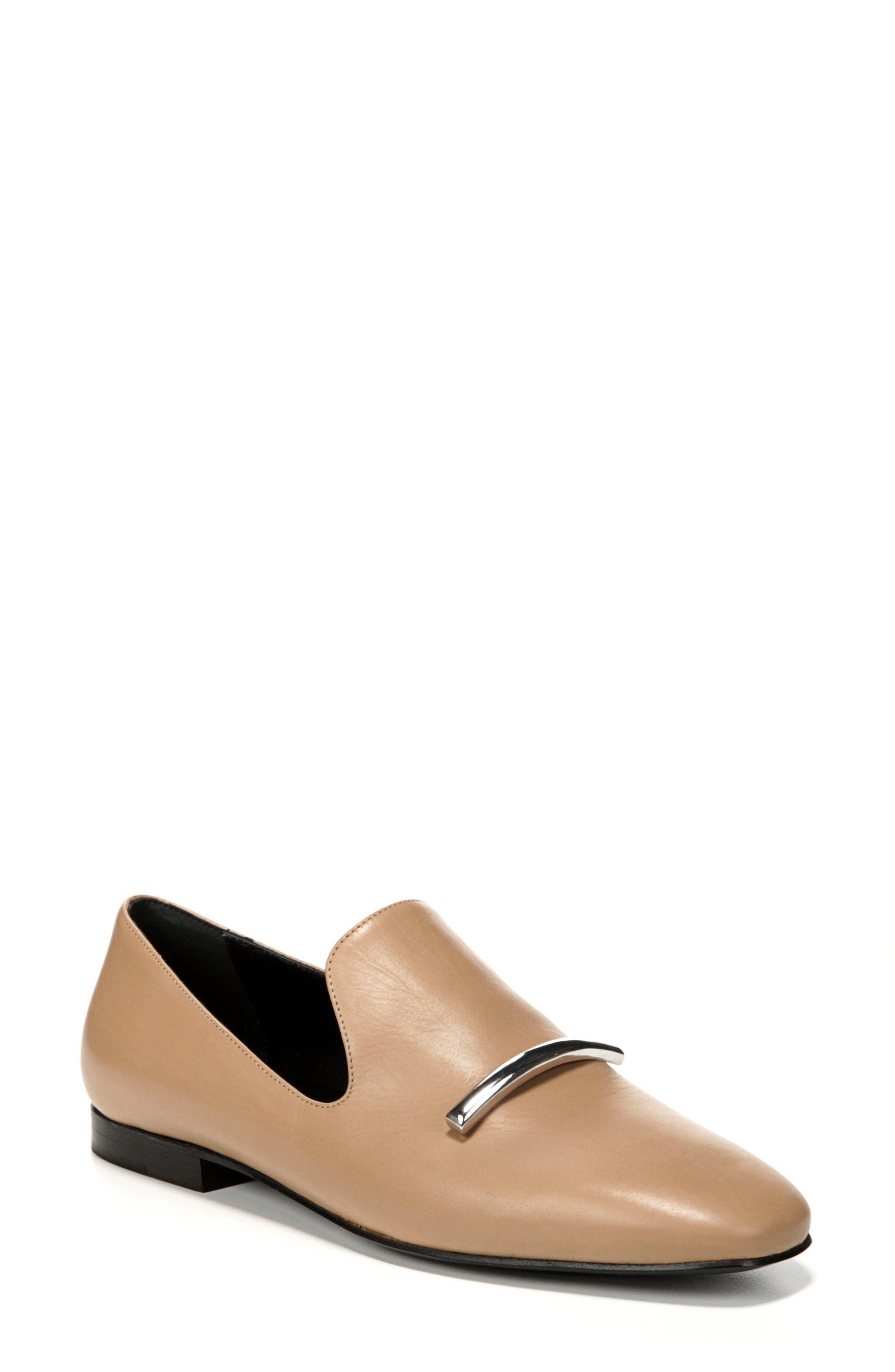 Tallis Flat Loafer,                         Main,                         color, DESERT LEATHER