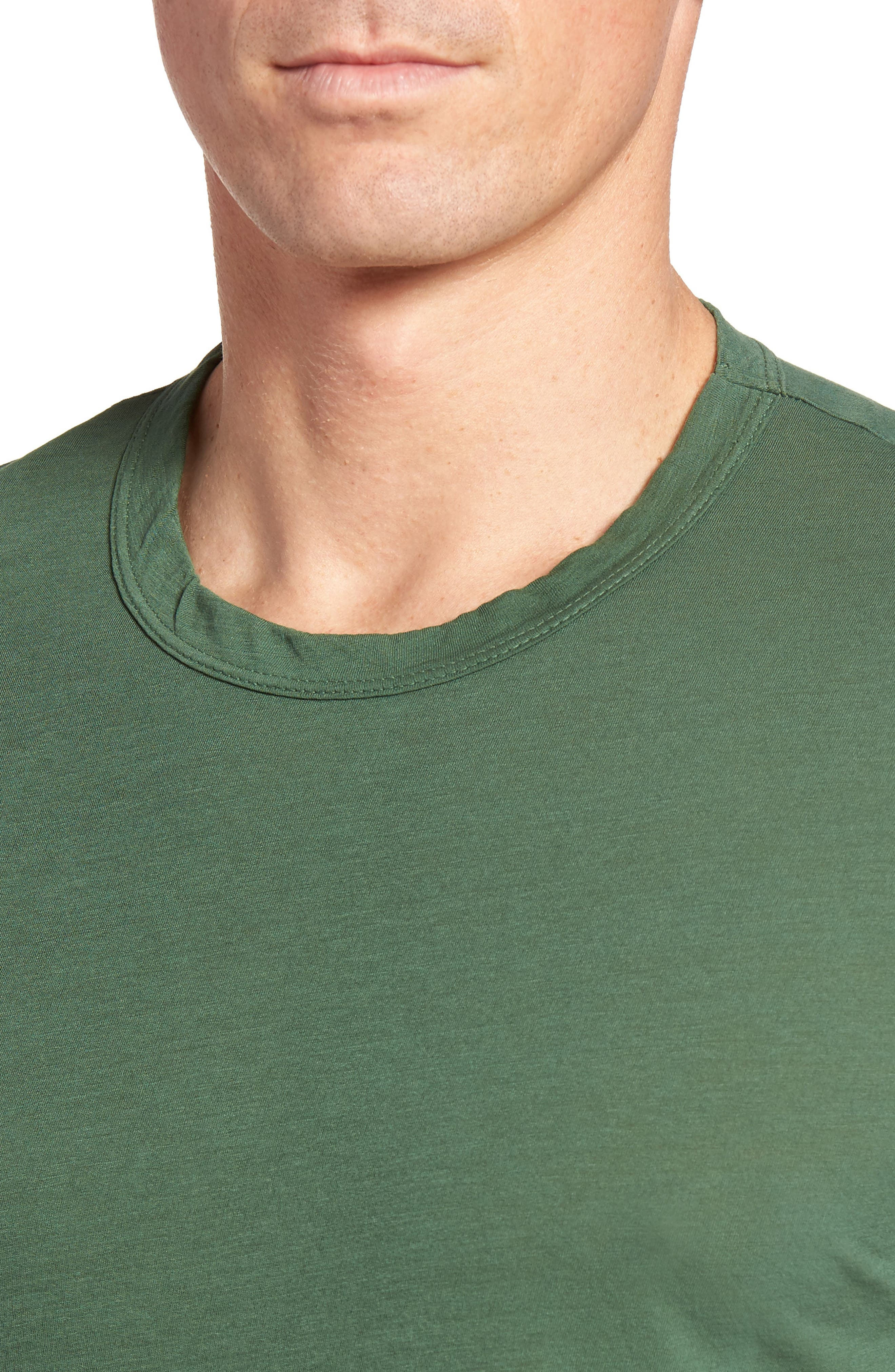 Crewneck Jersey T-Shirt,                             Alternate thumbnail 409, color,