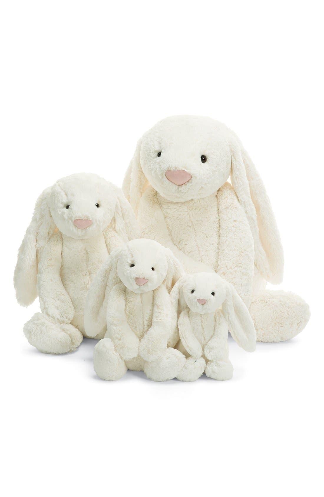'Large Bashful Bunny' Stuffed Animal,                             Alternate thumbnail 3, color,                             CREAM