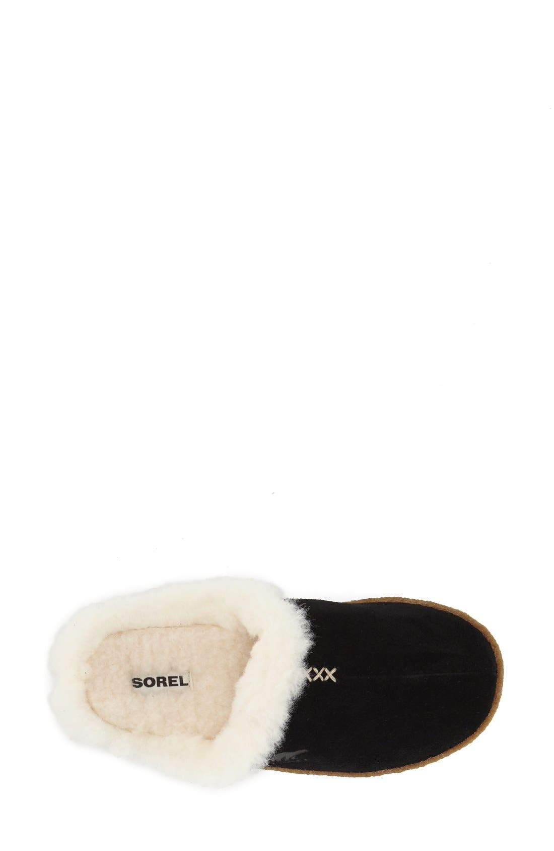 SOREL,                             'Nakiska' Slipper,                             Alternate thumbnail 4, color,                             010