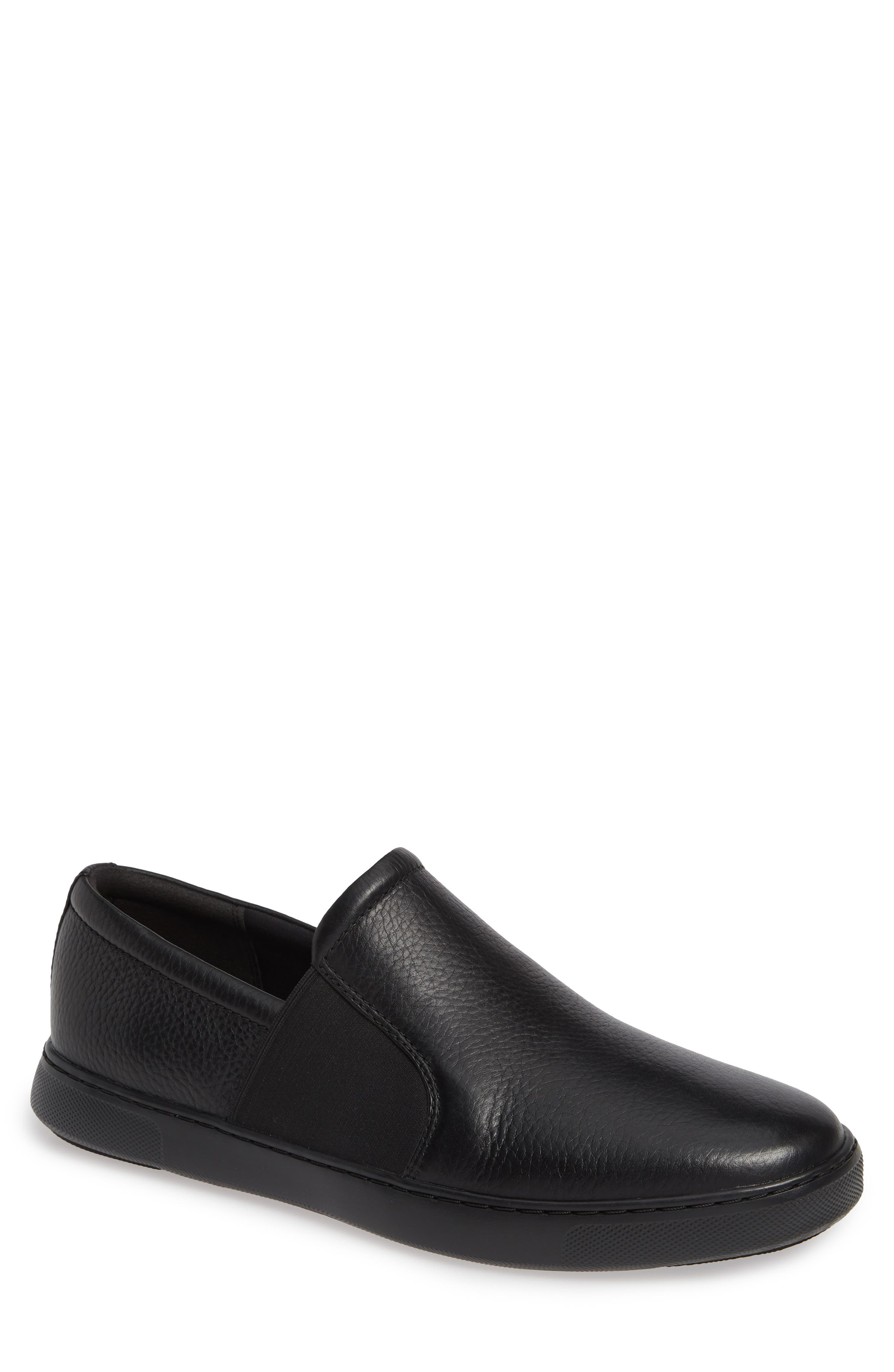 FITFLOP,                             Collins Slip-On Sneaker,                             Main thumbnail 1, color,                             BLACK