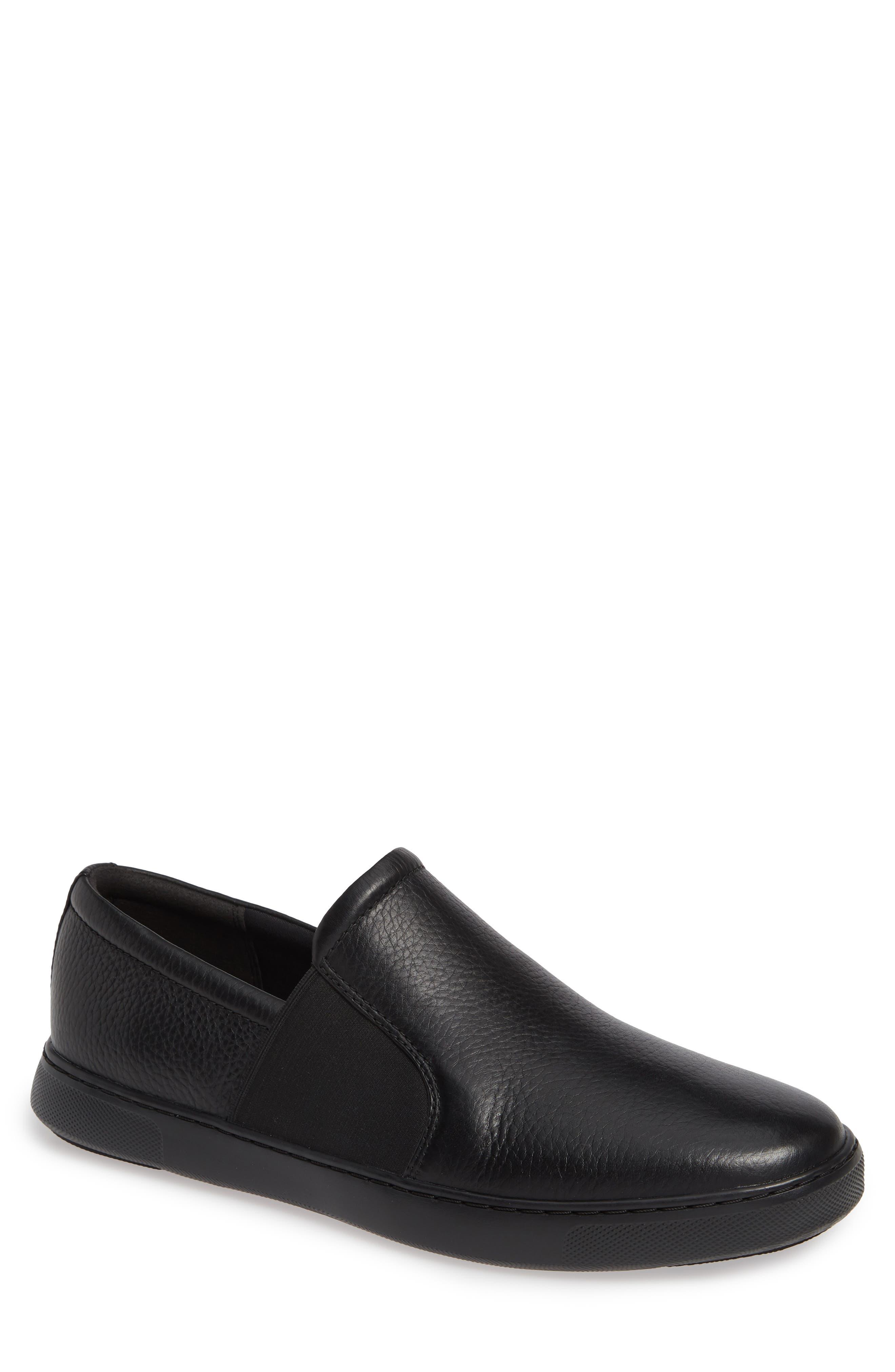 FITFLOP Collins Slip-On Sneaker, Main, color, BLACK