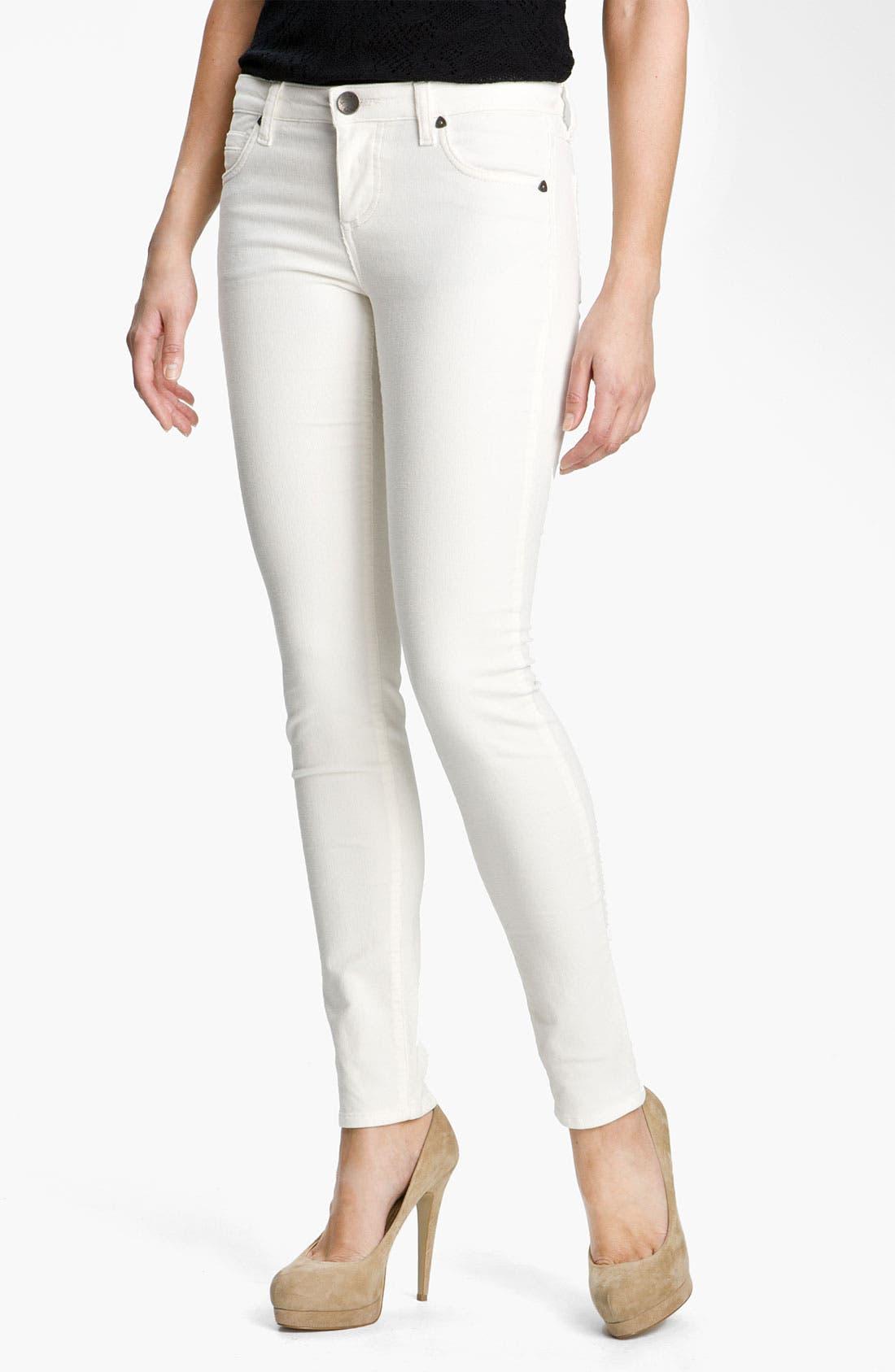 'Diana' Stretch Corduroy Skinny Pants,                             Main thumbnail 49, color,