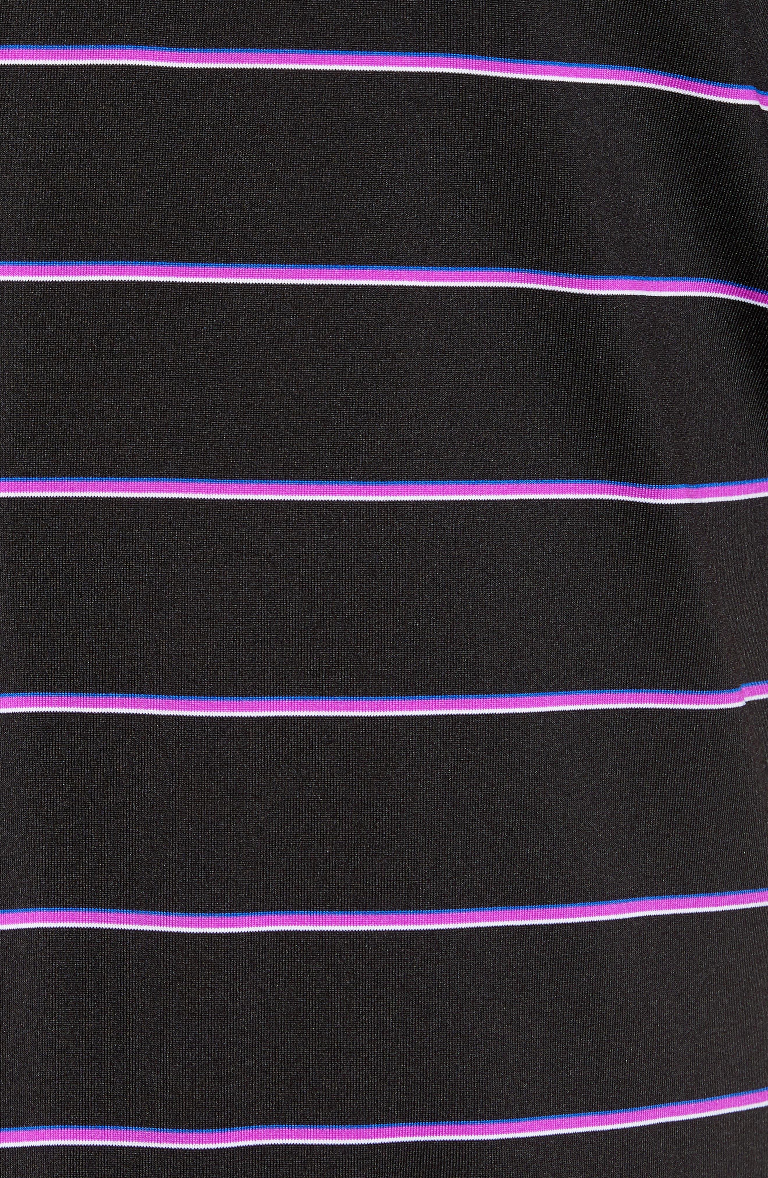 Stripe DryTec Polo,                             Alternate thumbnail 5, color,                             007