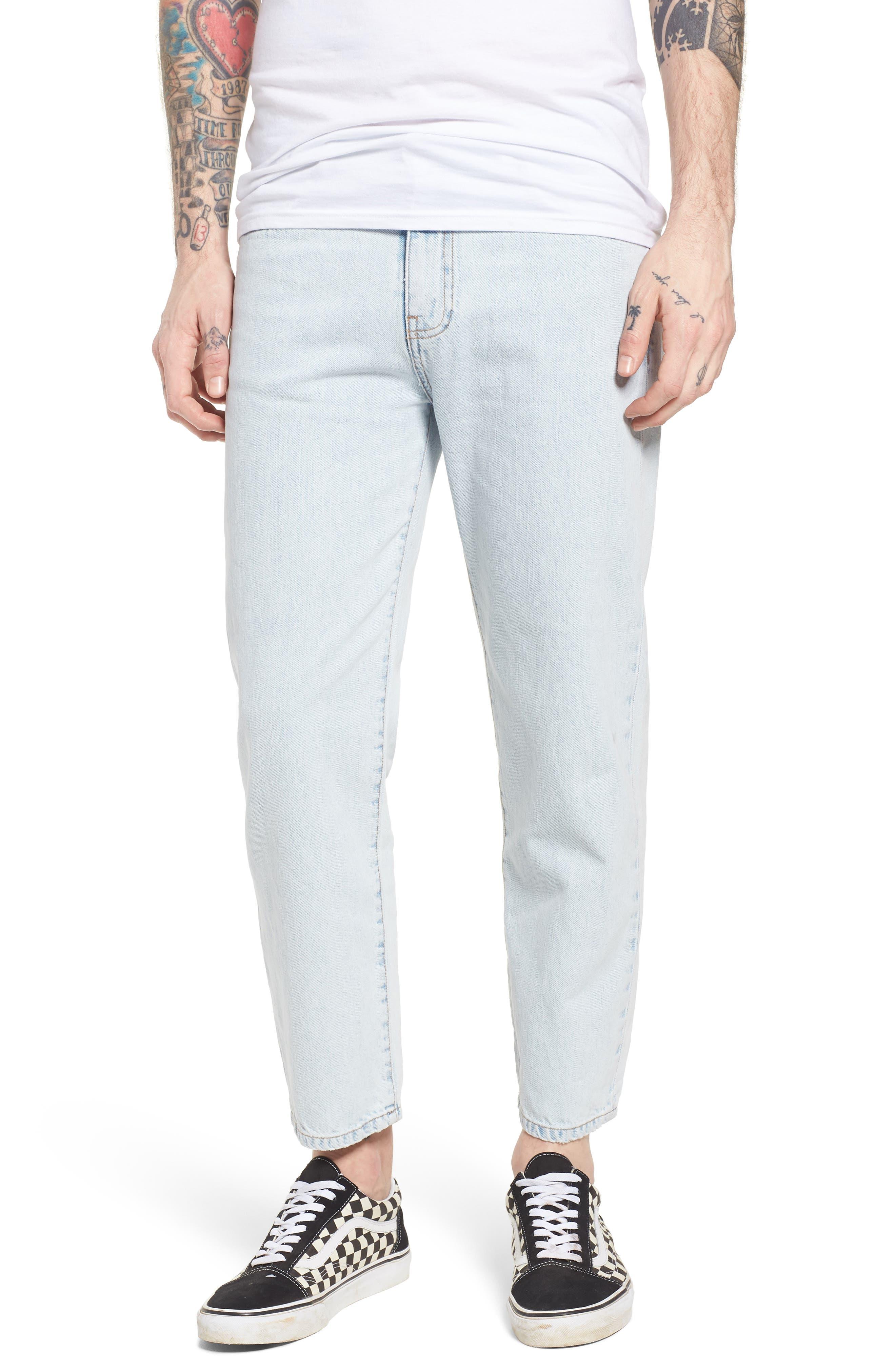 Otis Straight Fit Jeans,                             Main thumbnail 1, color,                             401