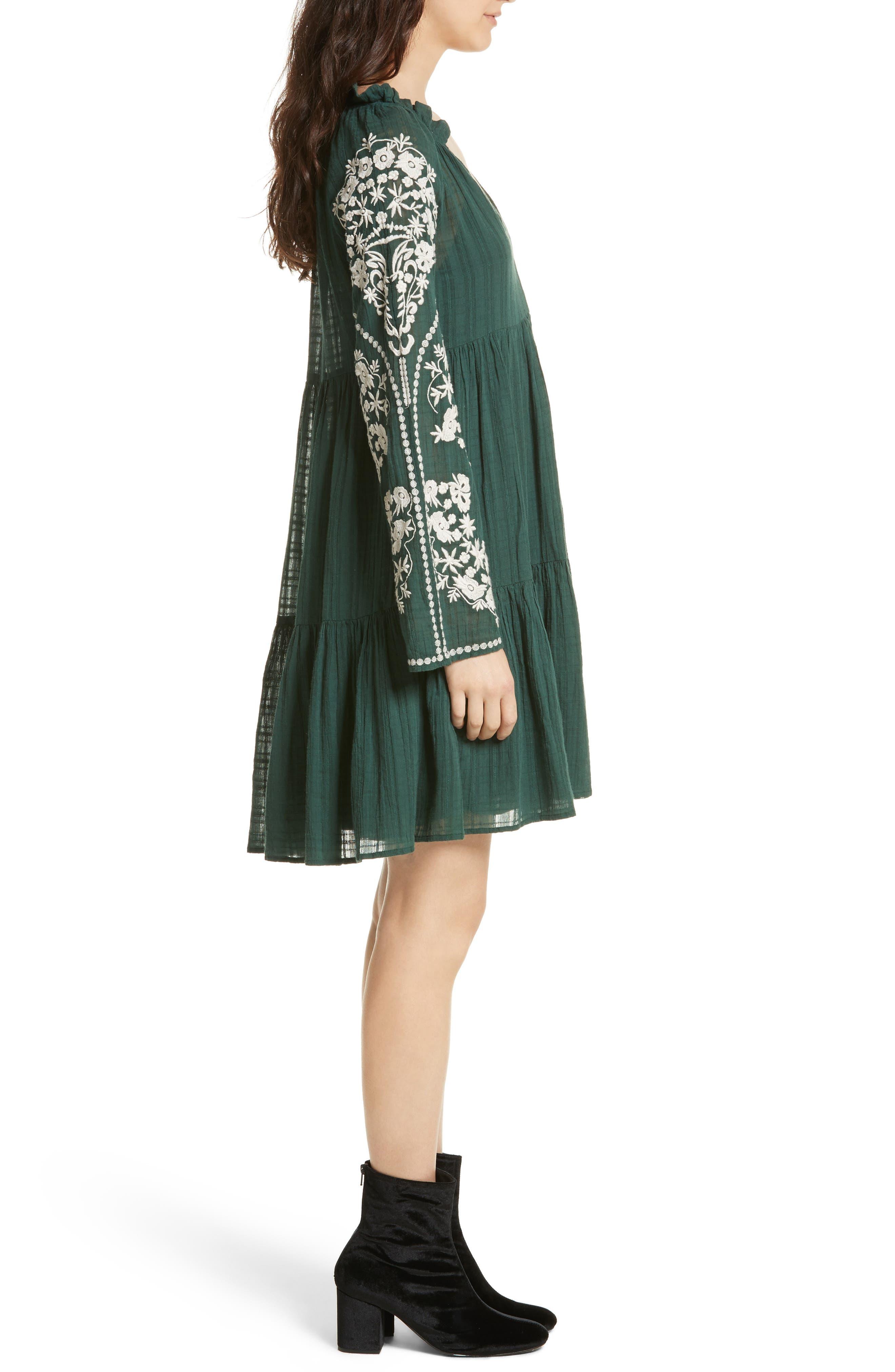 Emerald City Shift Dress,                             Alternate thumbnail 3, color,                             300