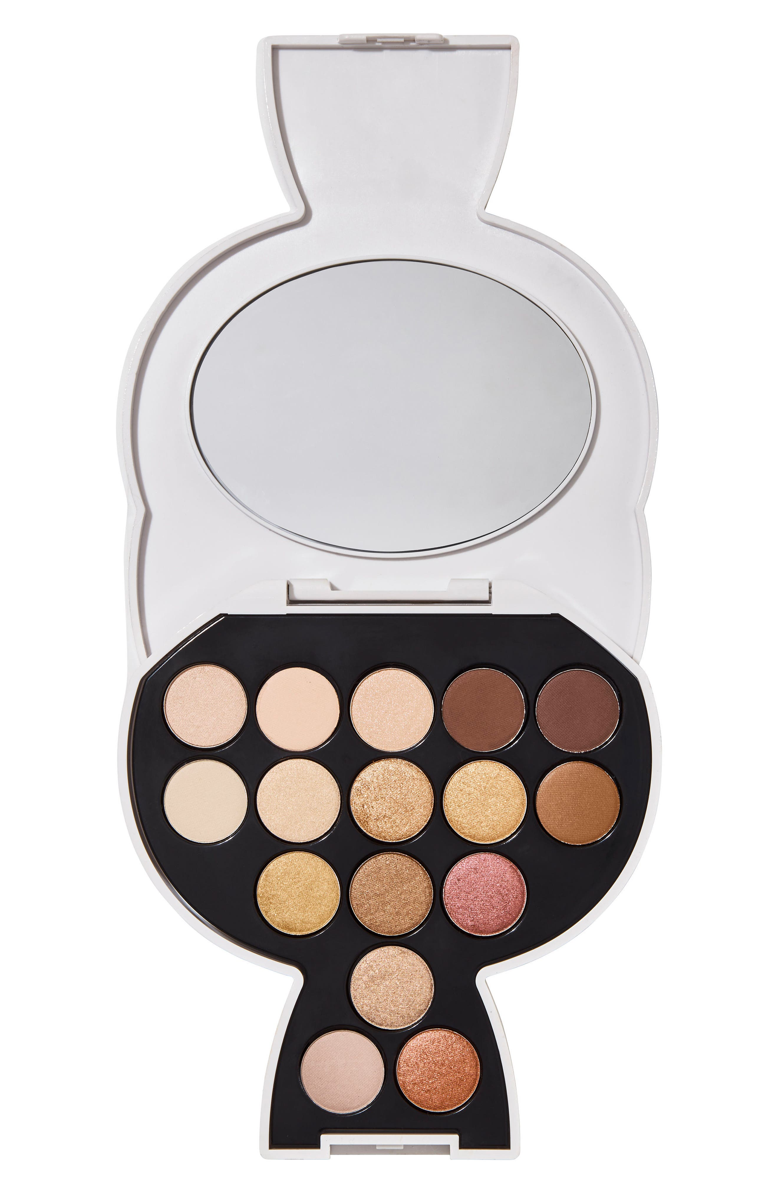 KARL LAGERFELD + MODELCO Kiss Me Karl Choupette Eyeshadow Palette,                             Main thumbnail 1, color,                             WARM/NUDE