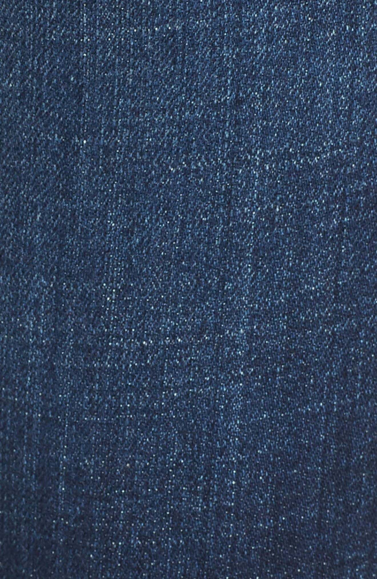 Rocket High Waist Skinny Jeans,                             Alternate thumbnail 6, color,                             428