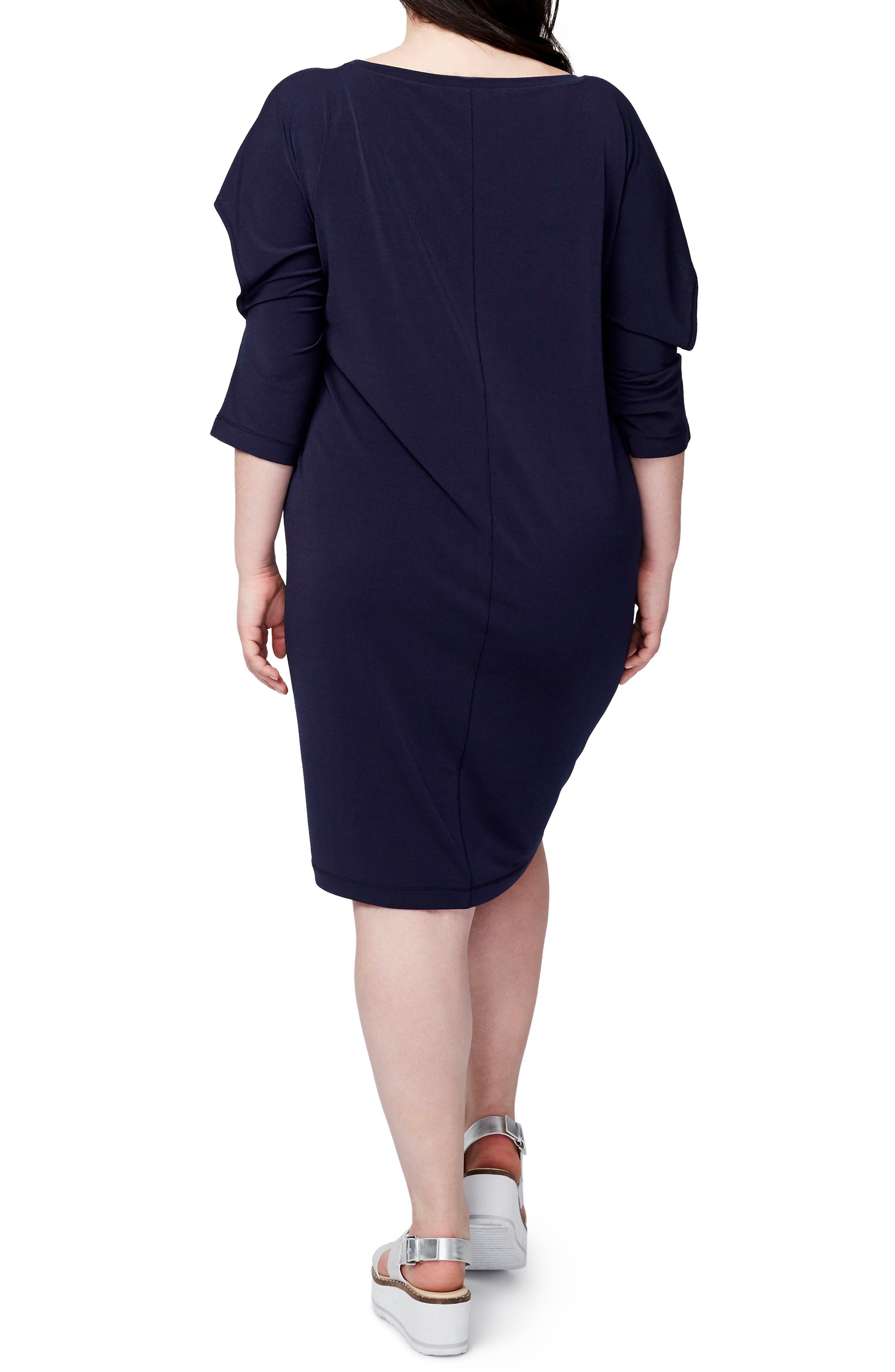 Ruffled Open Sleeve Dress,                             Alternate thumbnail 2, color,                             431