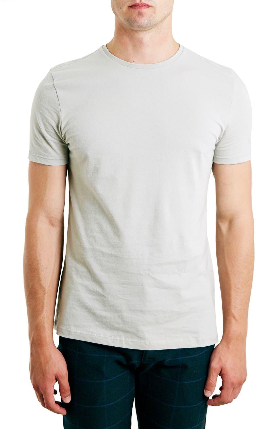 Slim Fit Crewneck T-Shirt,                             Main thumbnail 44, color,