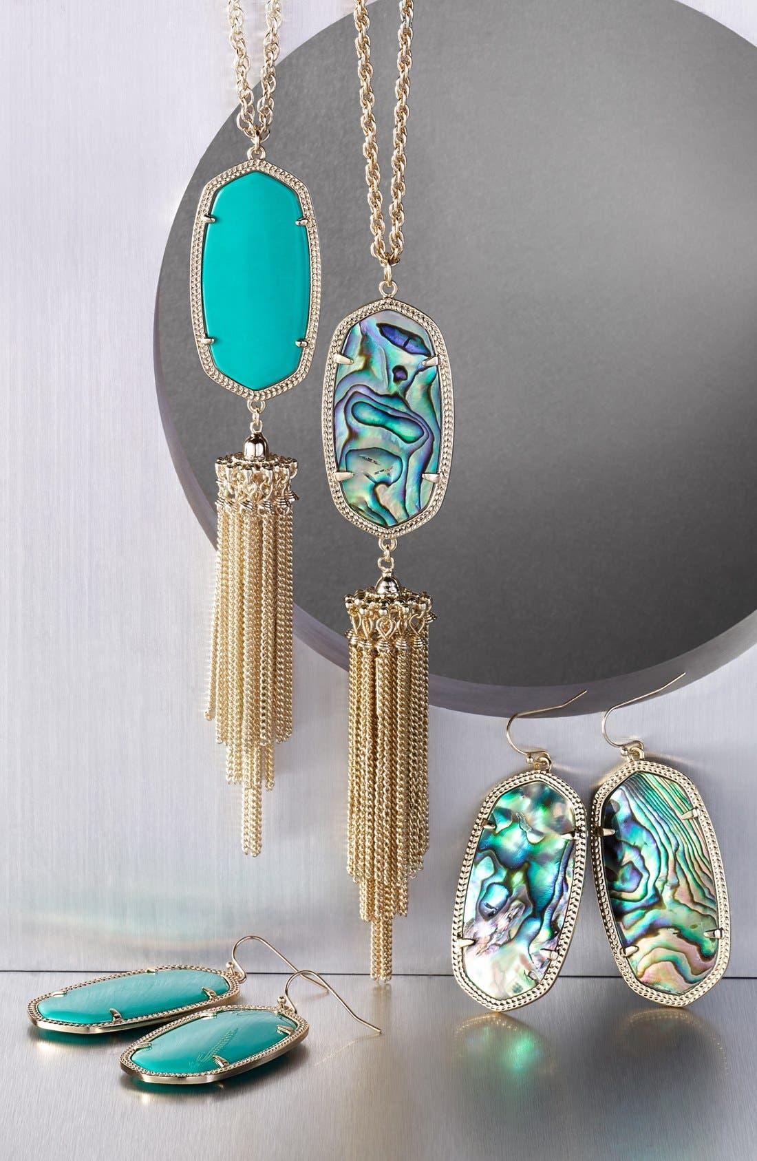 Rayne Stone Tassel Pendant Necklace,                             Alternate thumbnail 159, color,