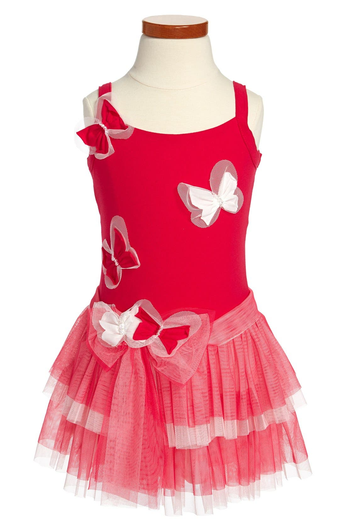 'Rainbow Sorbet' Butterfly Dress,                             Main thumbnail 1, color,                             651