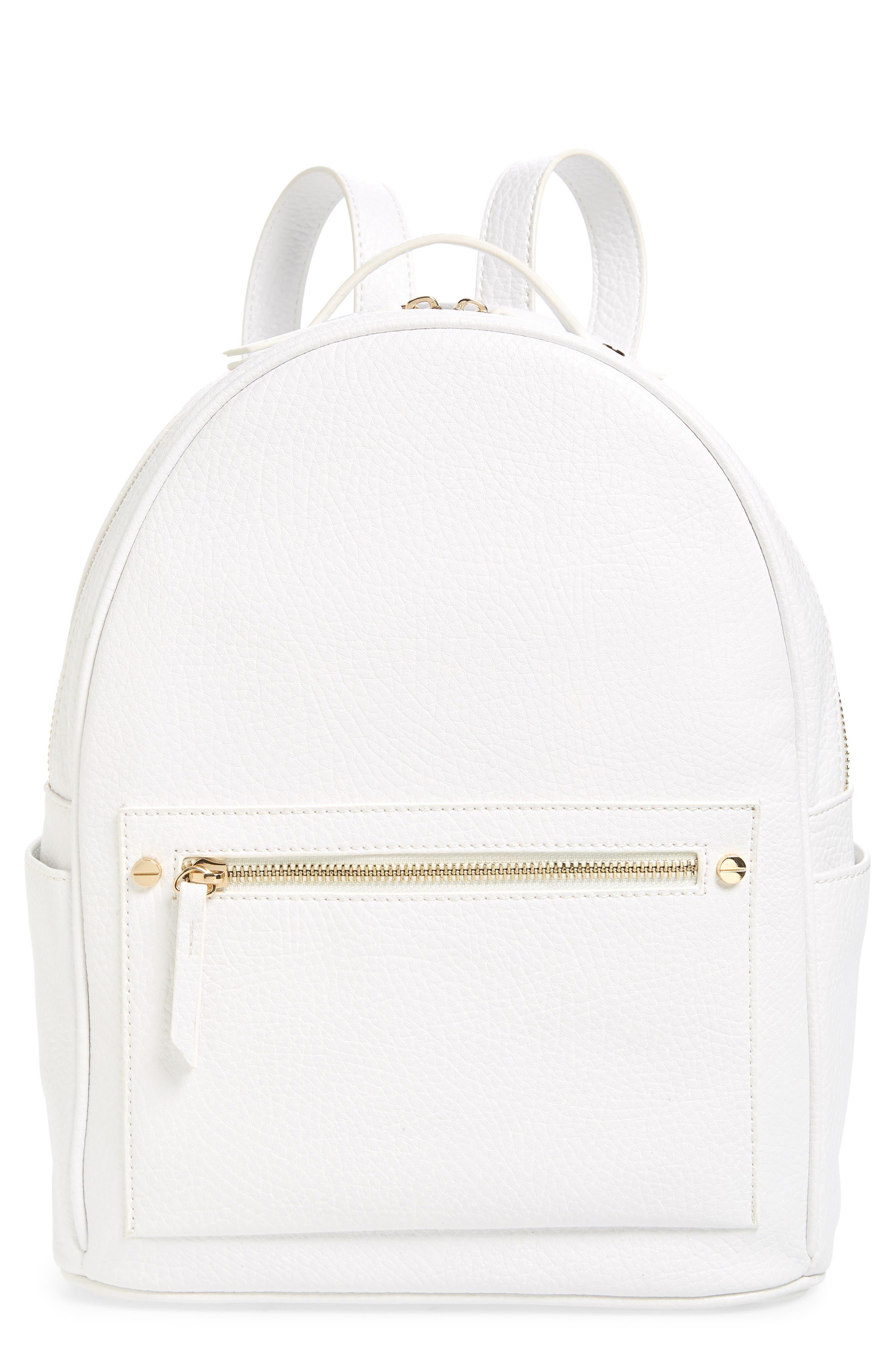 Mali + Lili Madison Vegan Leather Backpack,                             Main thumbnail 3, color,