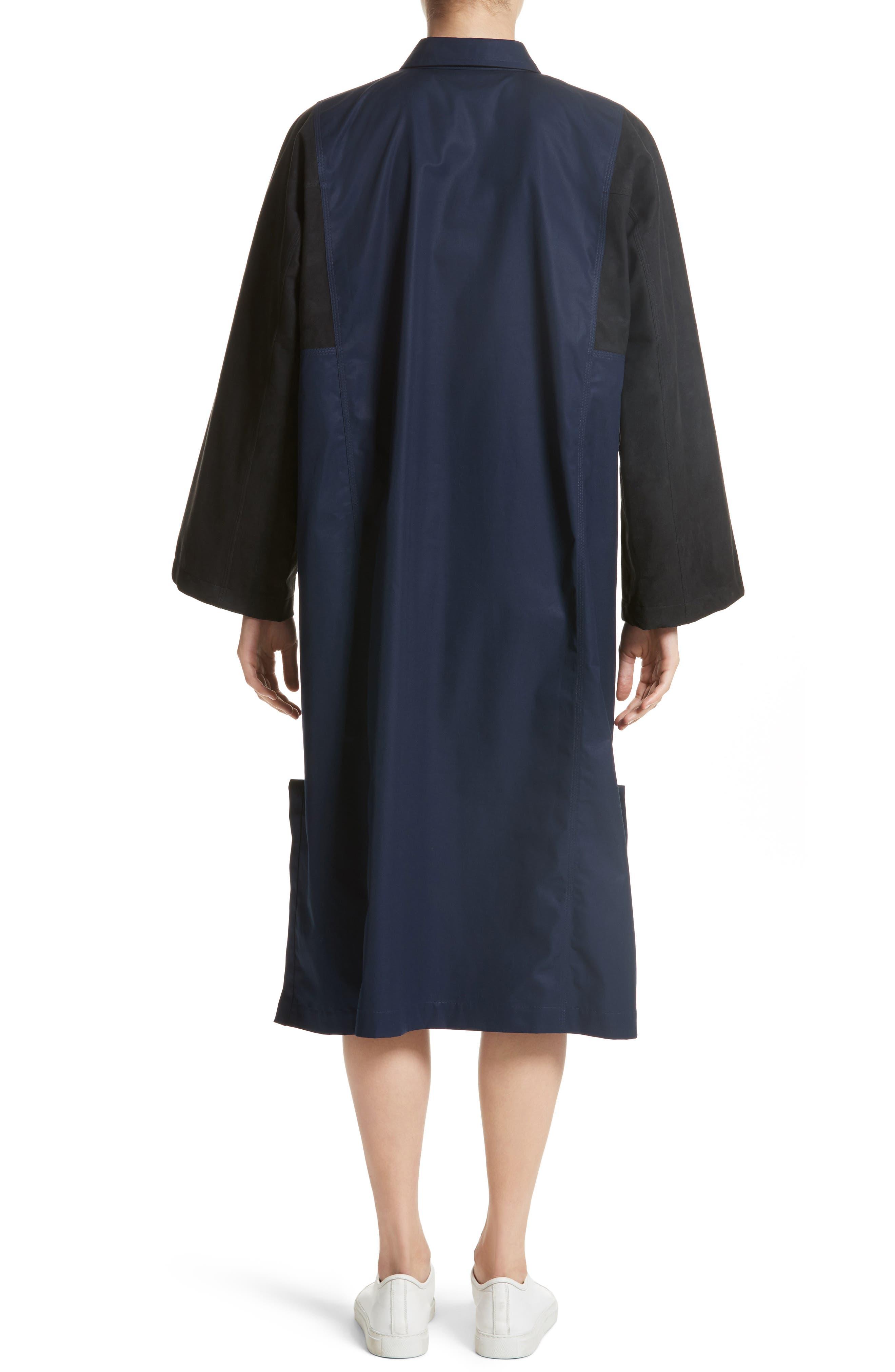 Mixed Media Shirt Dress,                             Alternate thumbnail 2, color,                             415
