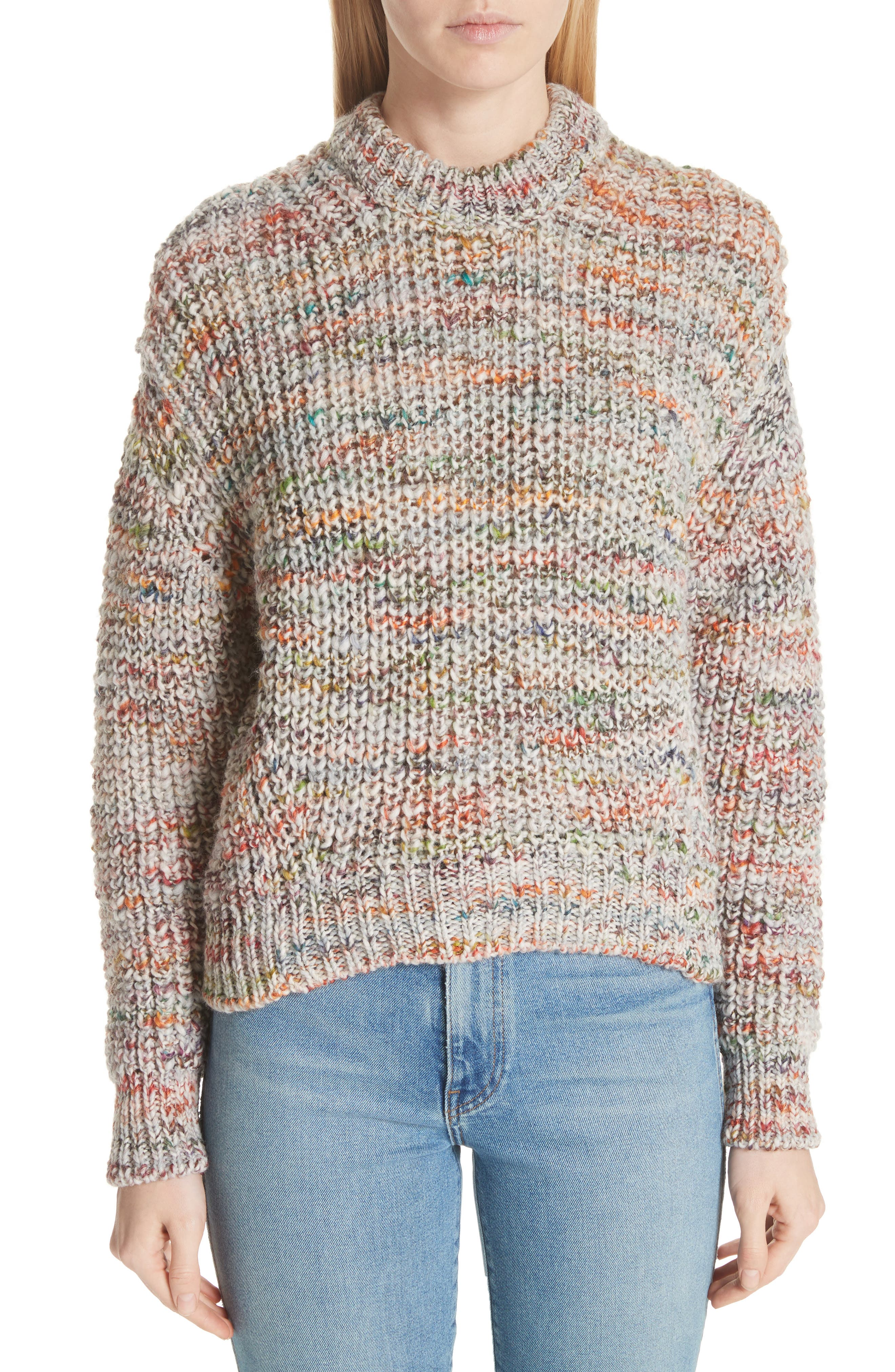 Zora Multi Sweater,                             Main thumbnail 1, color,                             100