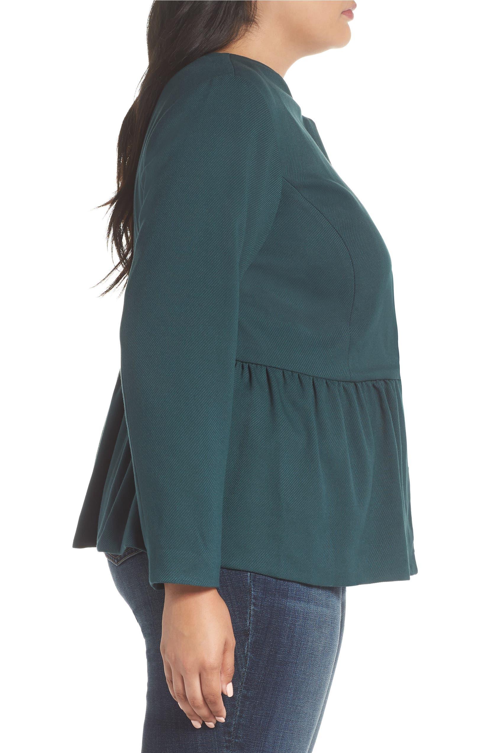 71d474fbbb1 Sejour Peplum Jacket (Plus Size)