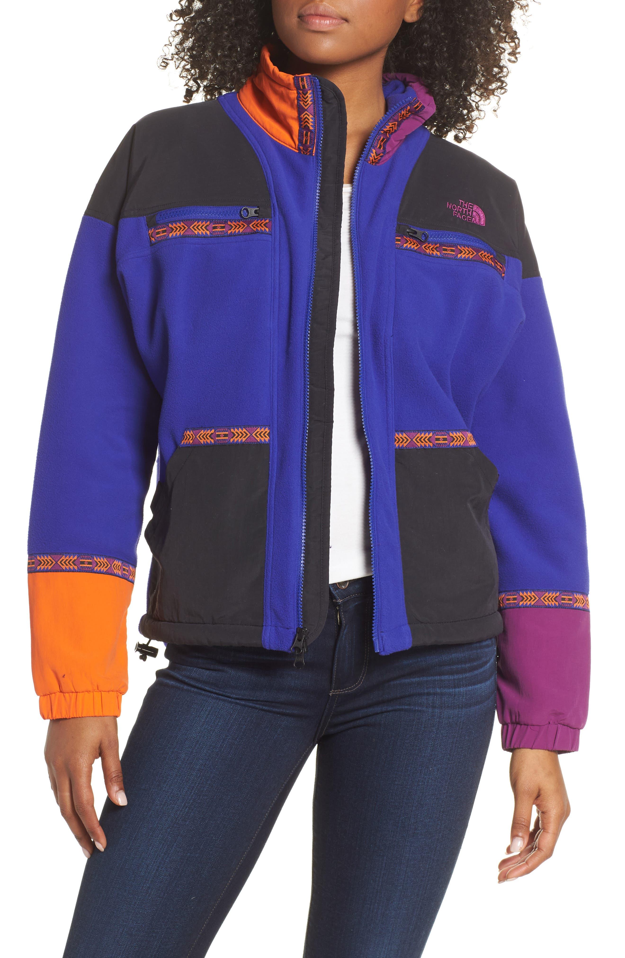 The North Face 92 Rage Fleece Full Zip Jacket, Blue