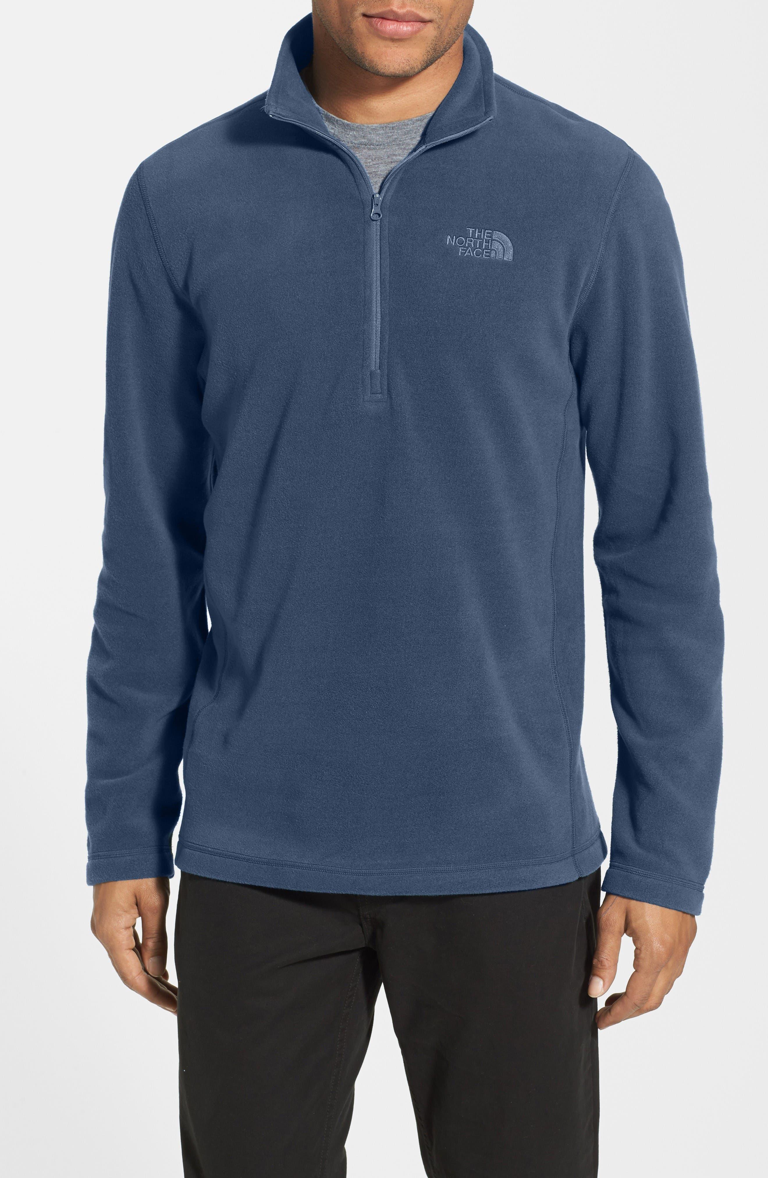 'TKA 100 Glacier' Quarter Zip Fleece Pullover,                             Alternate thumbnail 84, color,