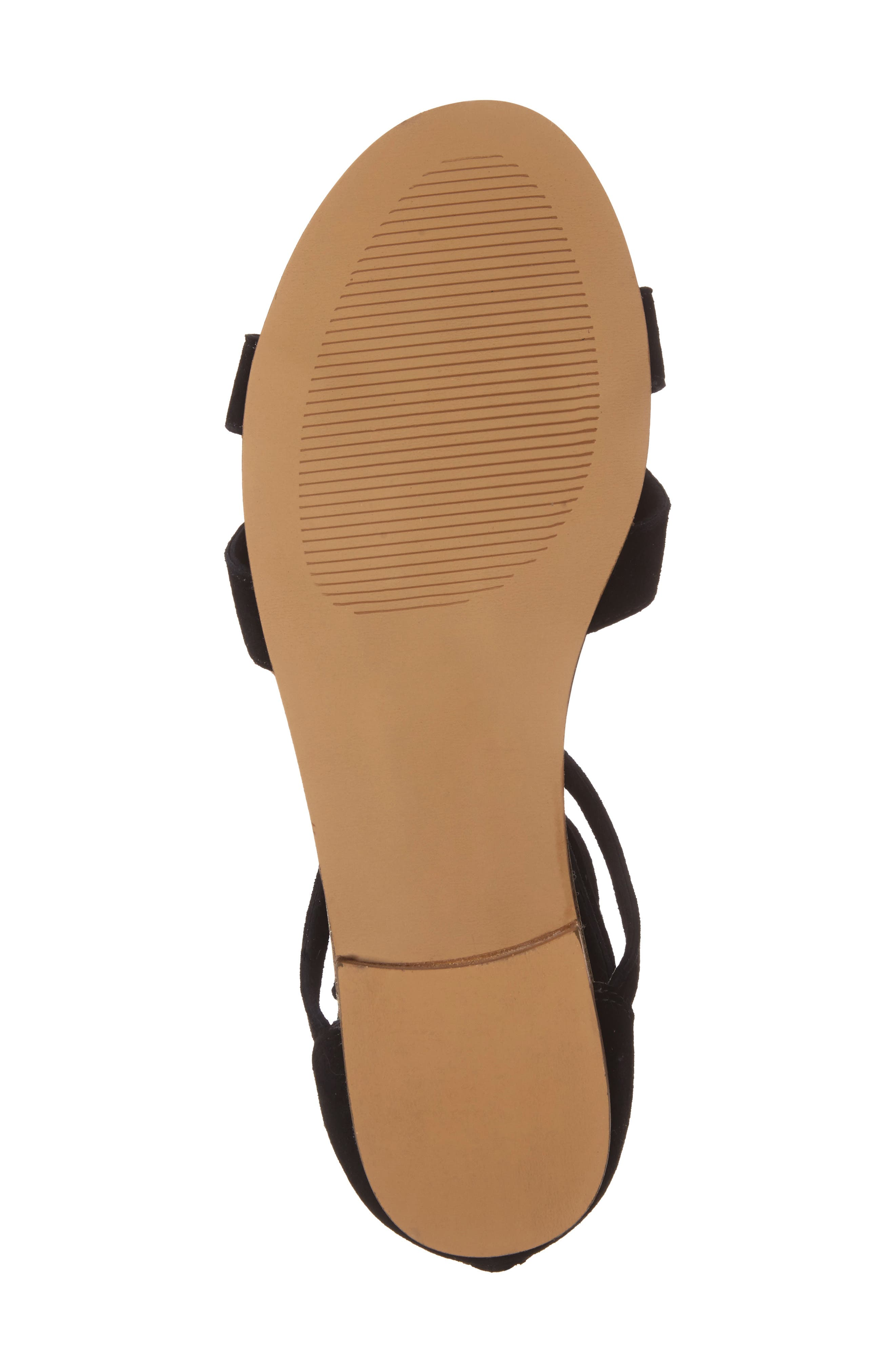 Sana Wraparound Sandal,                             Alternate thumbnail 5, color,                             003