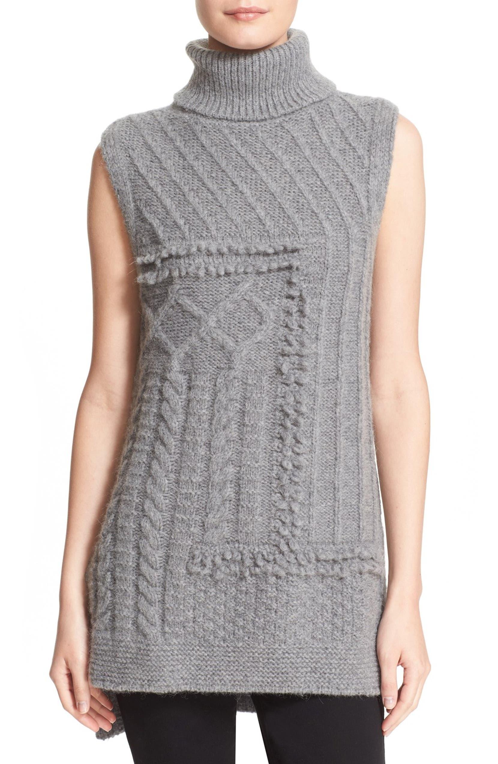 269f15c47aa6b Derek Lam 10 Crosby Cable Knit Turtleneck Sweater Vest