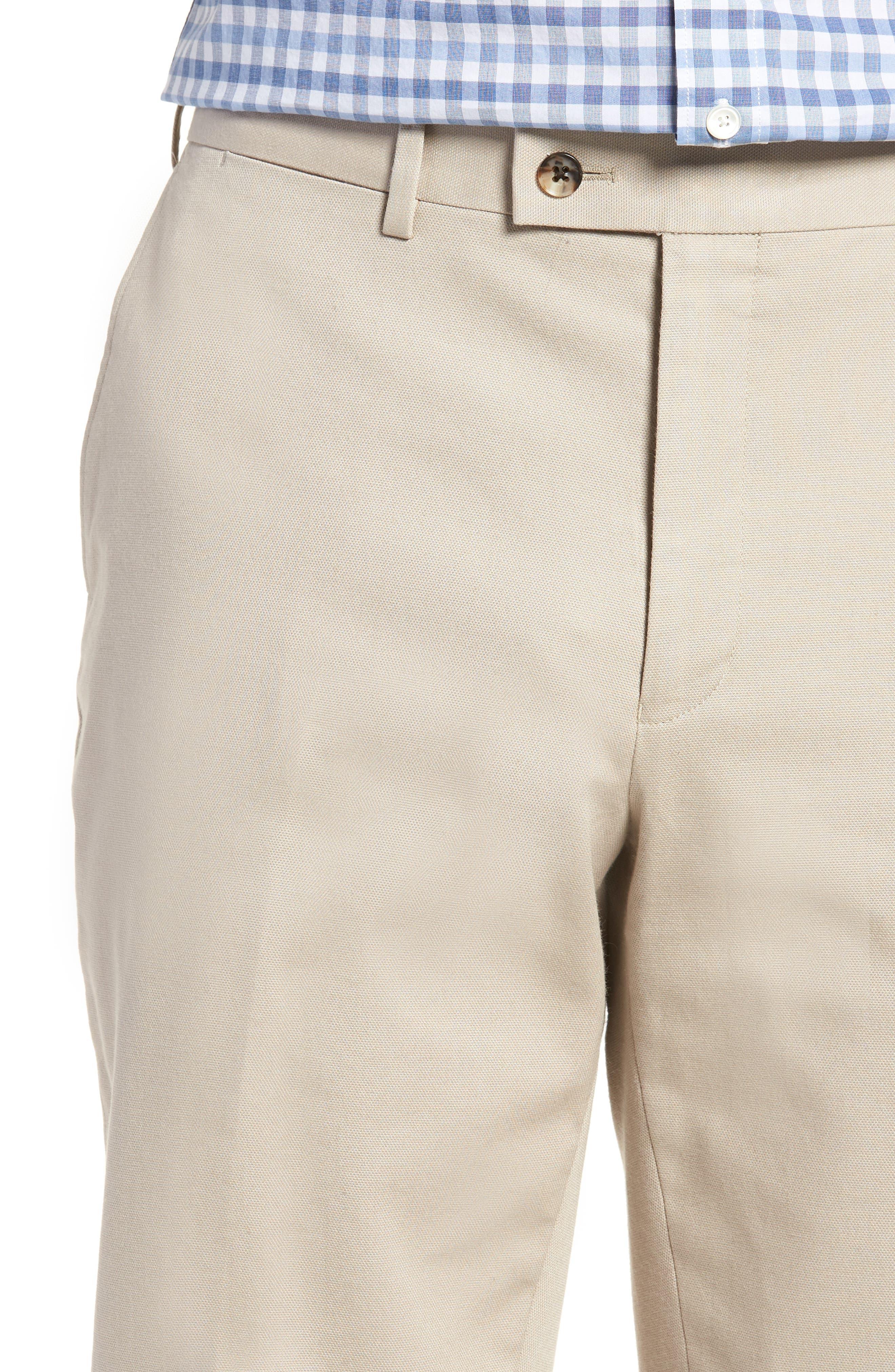 Finchley Regular Fit Pants,                             Alternate thumbnail 4, color,                             102