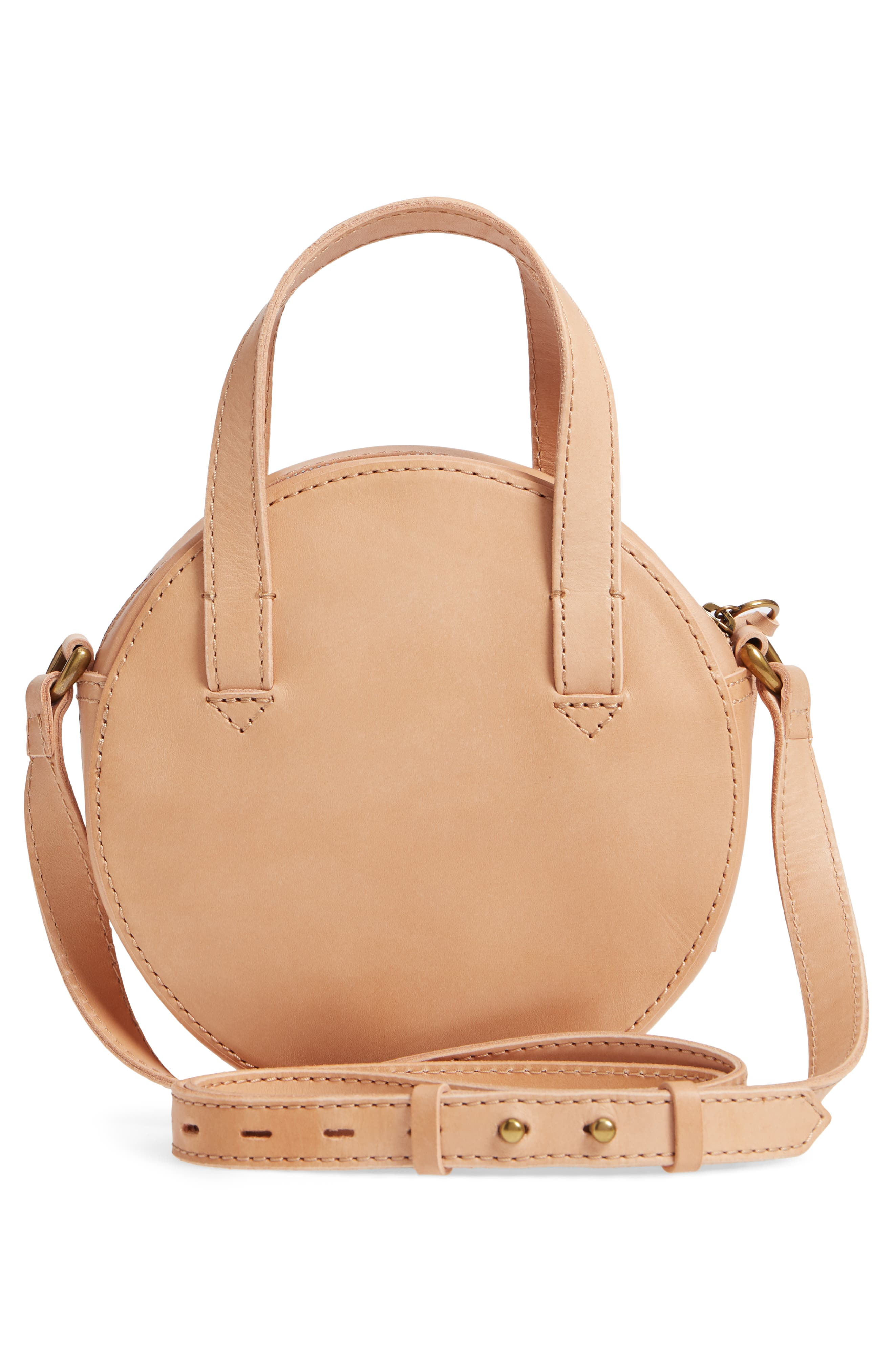 MADEWELL,                             Juno Circle Leather Crossbody Bag,                             Alternate thumbnail 3, color,                             250