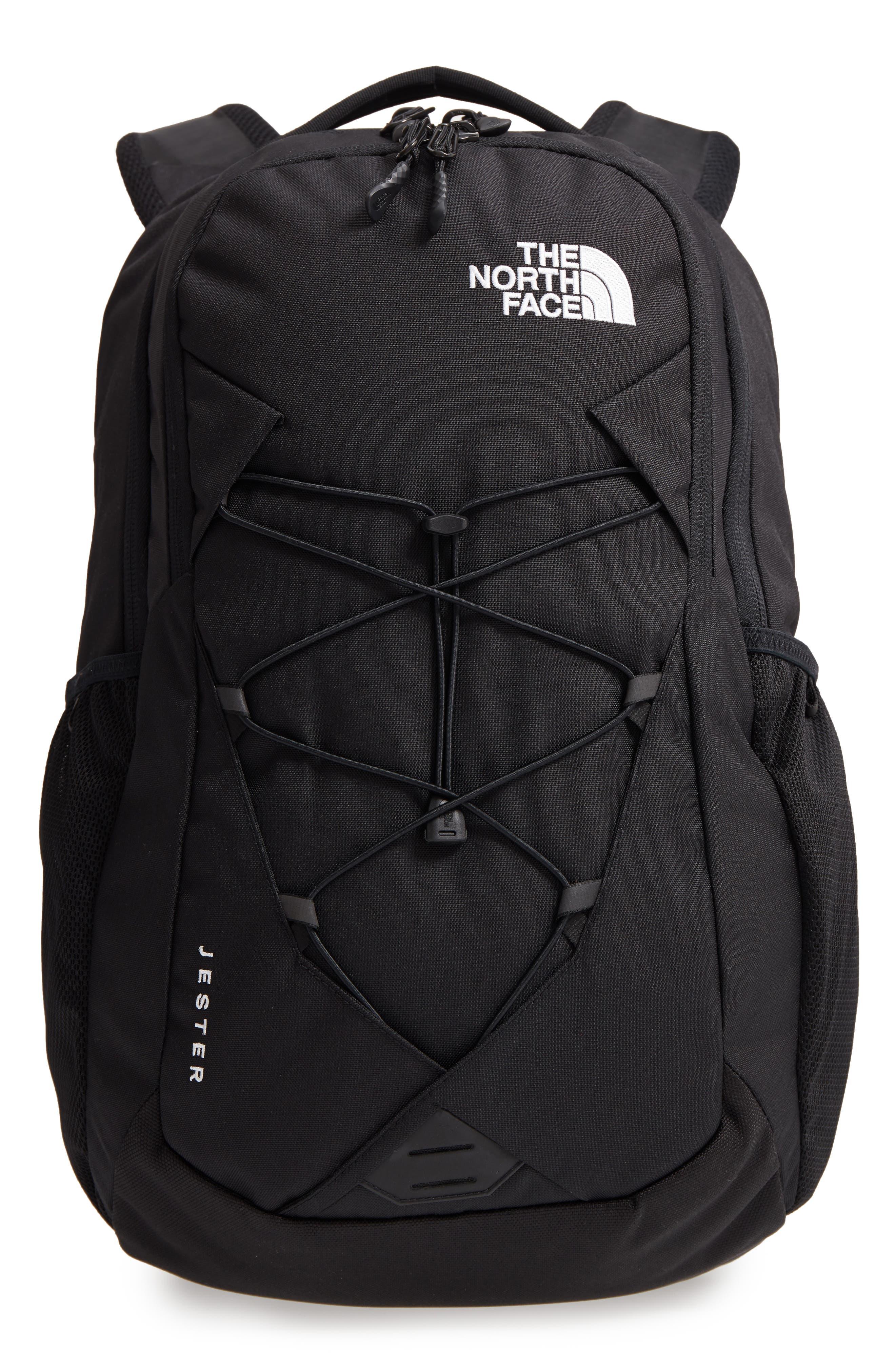 'Jester' Backpack,                         Main,                         color, TNF BLACK