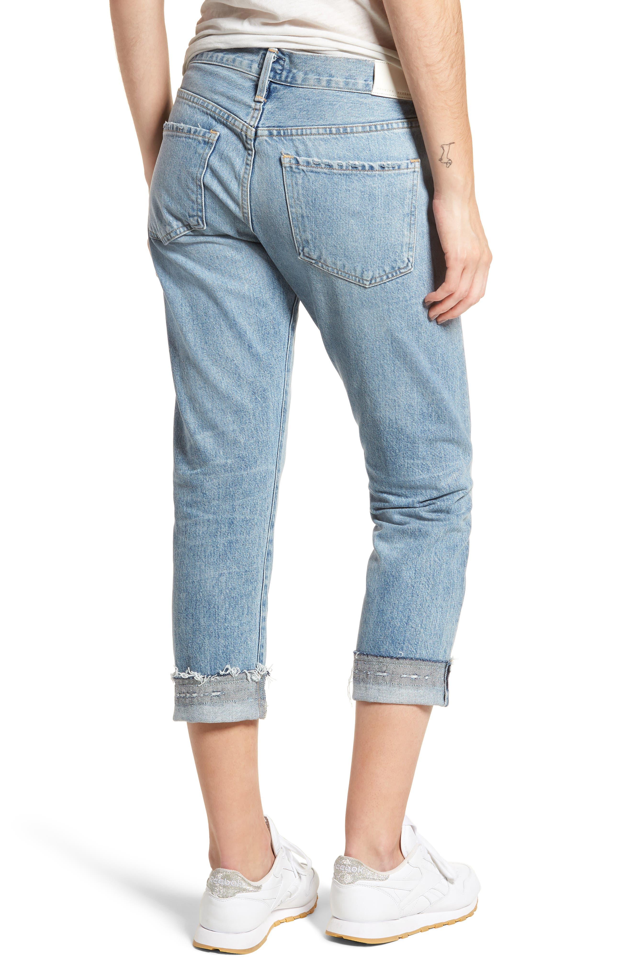 Emerson Crop Slim Fit Boyfriend Jeans,                             Alternate thumbnail 2, color,