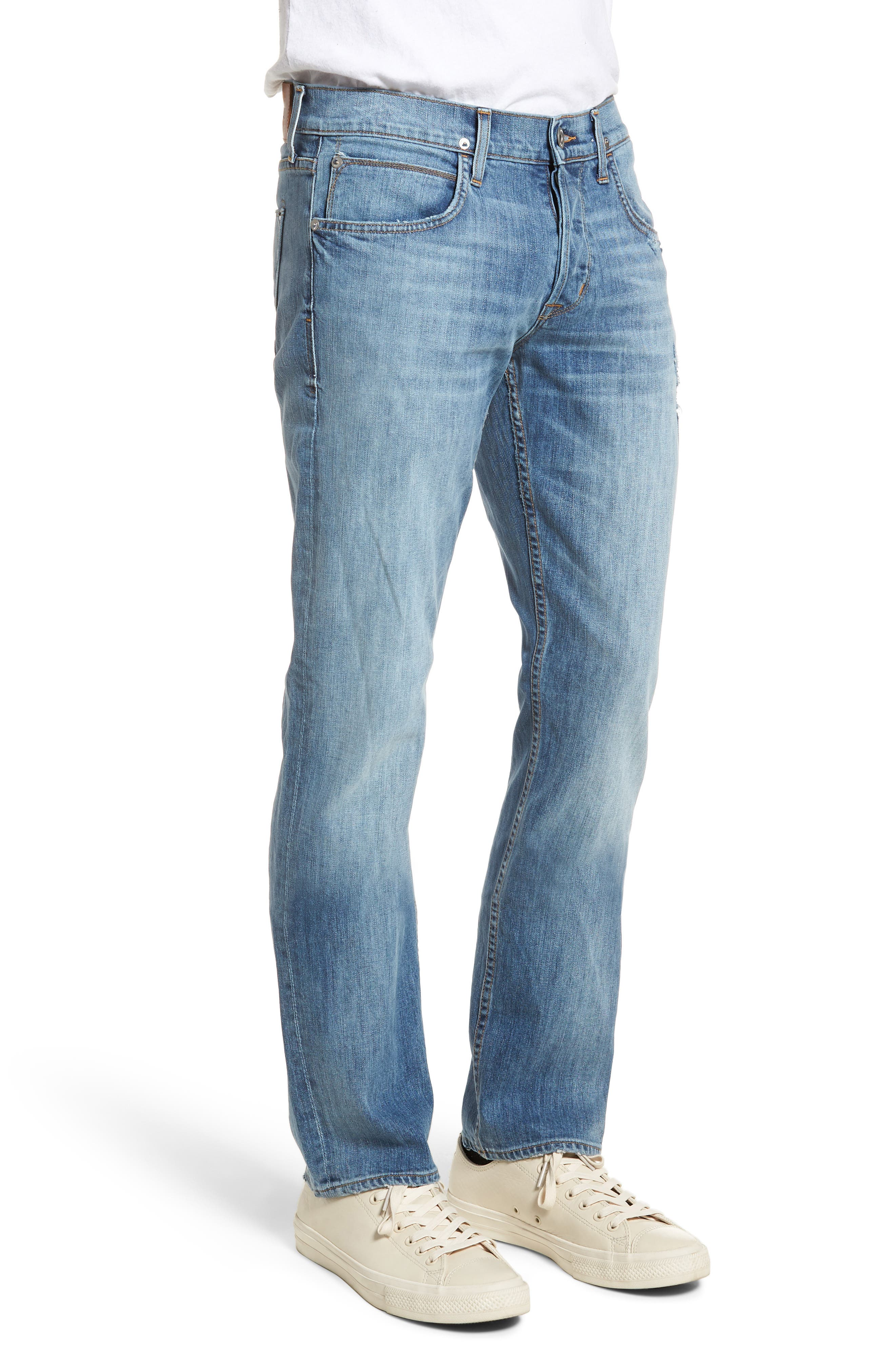 Byron Slim Straight Fit Jeans,                             Alternate thumbnail 3, color,                             425