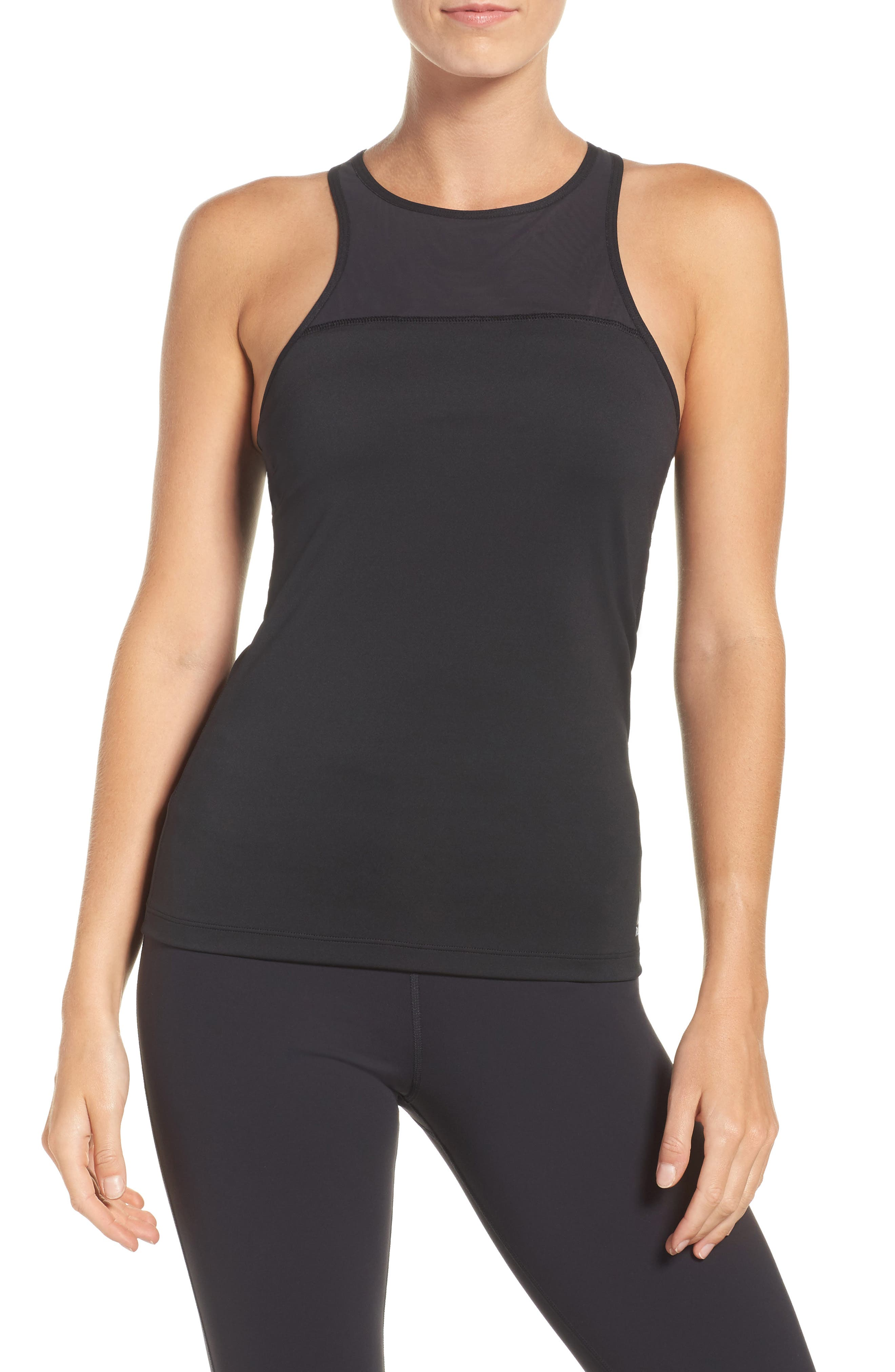 Speedwick Built-In Sports Bra Tank,                             Main thumbnail 1, color,                             005