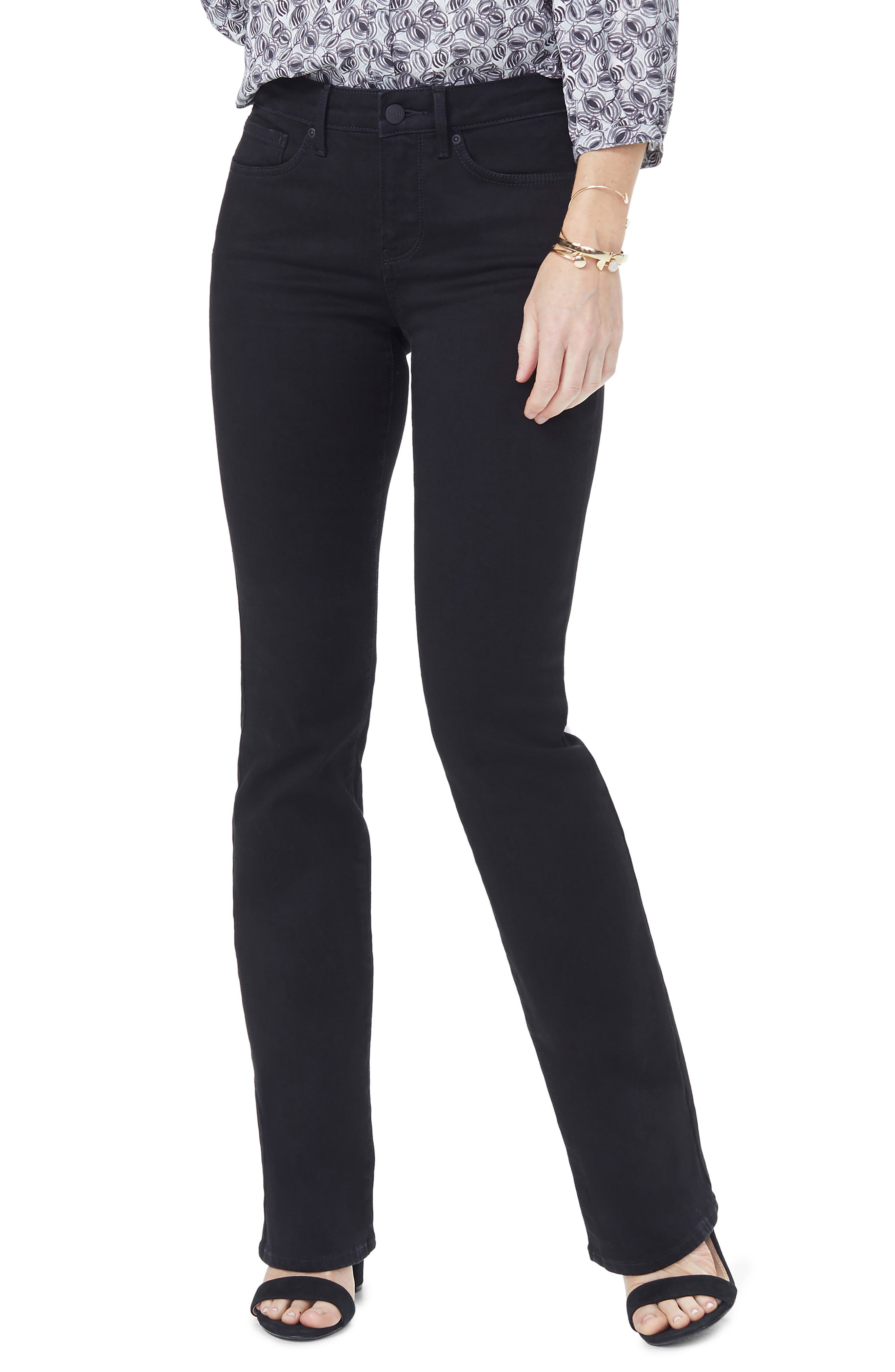 Barbara Curves 360 Bootcut Jeans in Black