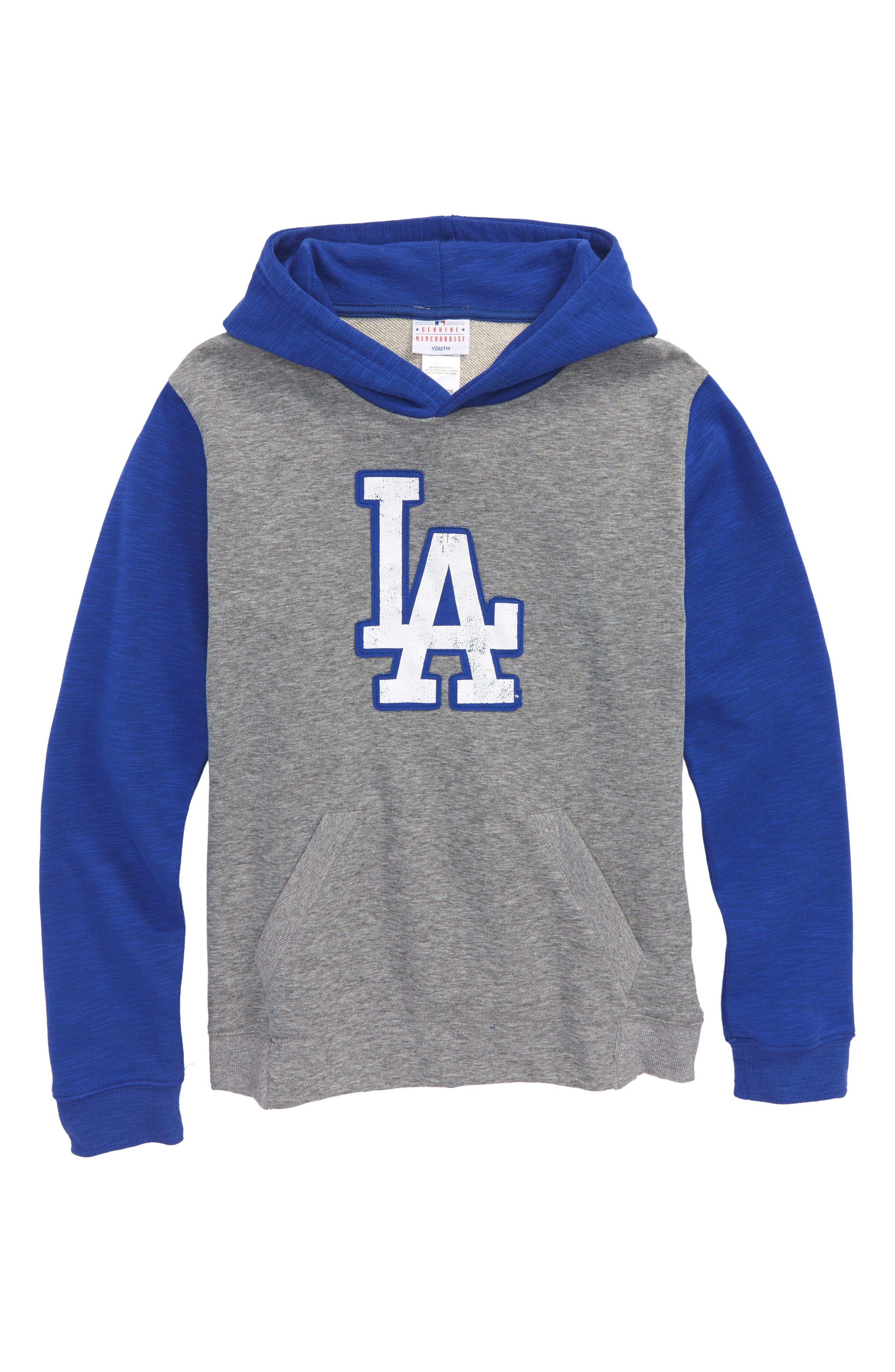 New Beginnings - Los Angeles Dodgers Pullover Hoodie,                         Main,                         color, 020