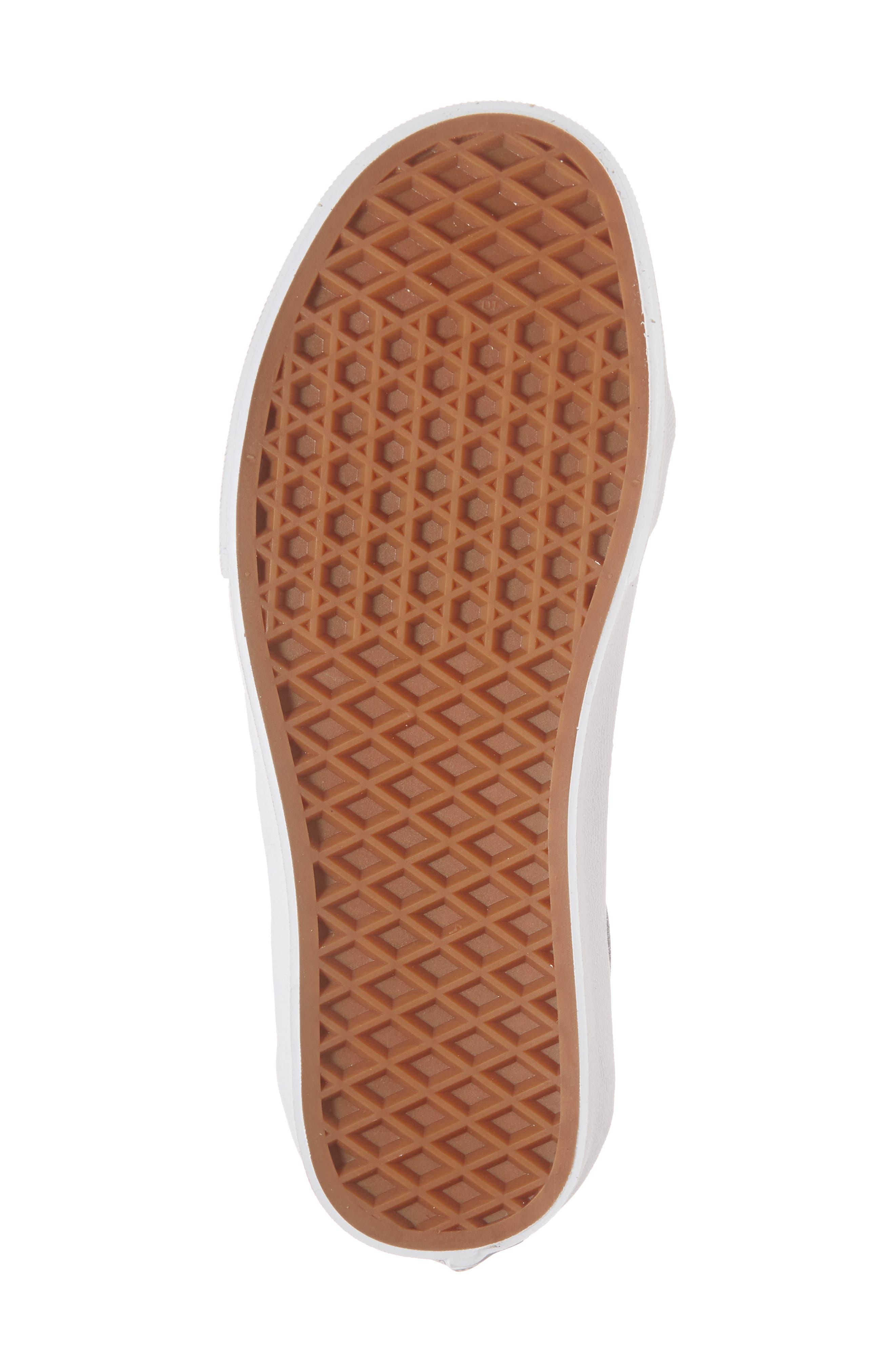 UA Sk8-Hi Reissue Glitter Sneaker,                             Alternate thumbnail 6, color,                             001