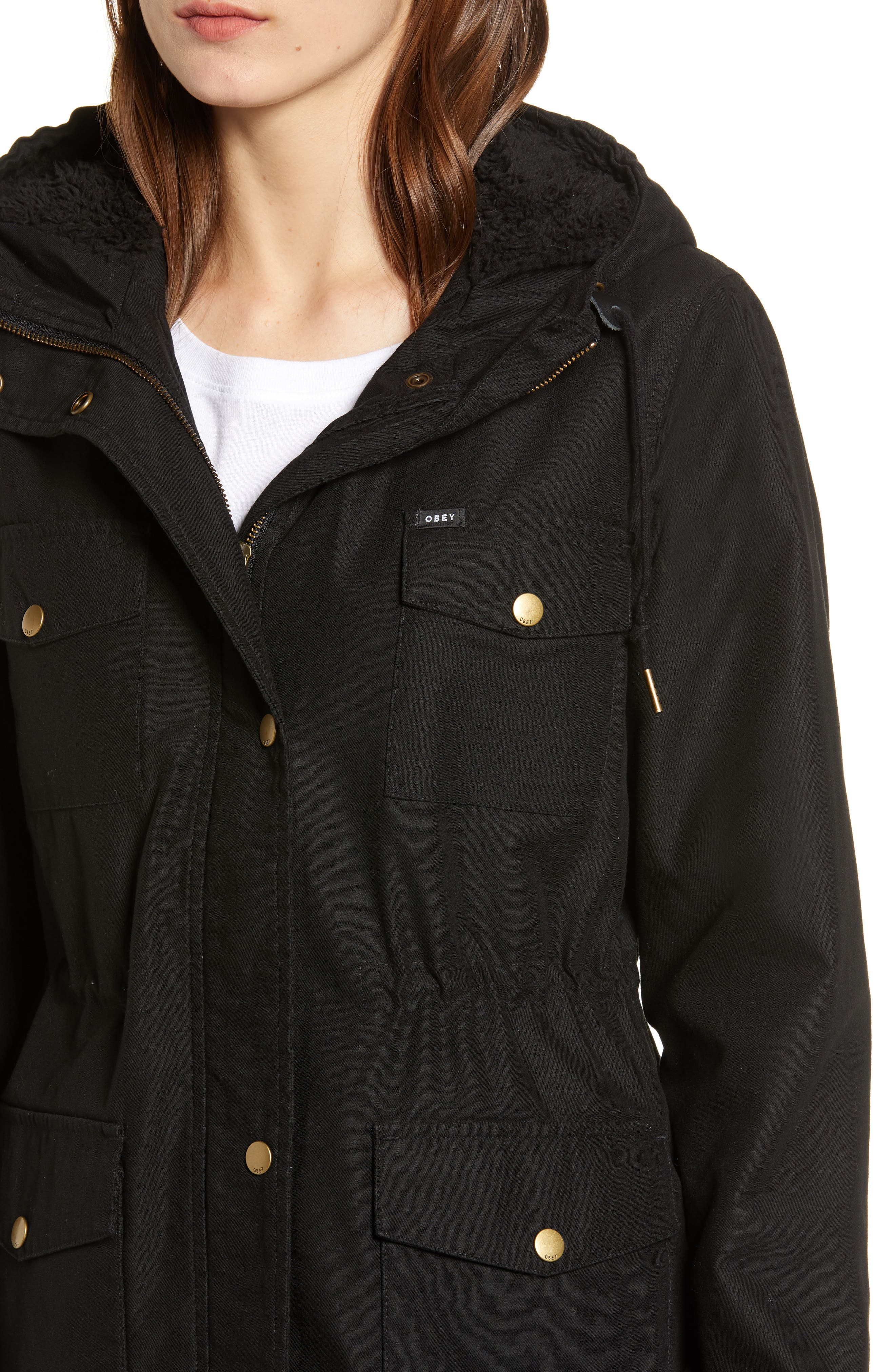 Pistol Water-Resistant Jacket,                             Alternate thumbnail 4, color,                             001