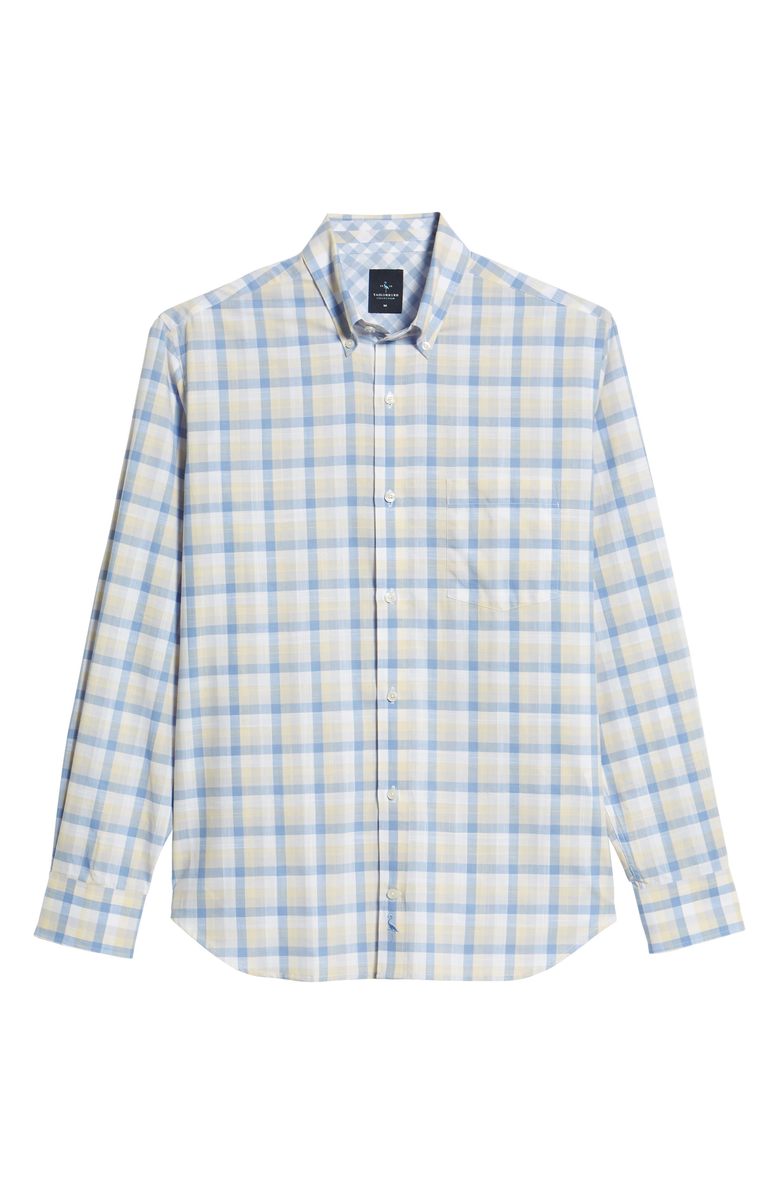 Hobbes Regular Fit Check Sport Shirt,                             Alternate thumbnail 6, color,                             450