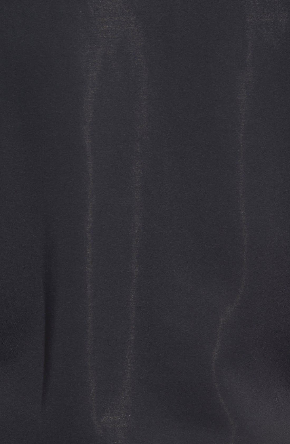 XH2O Crawford Stretch Quarter Zip Golf Vest,                             Alternate thumbnail 5, color,                             001