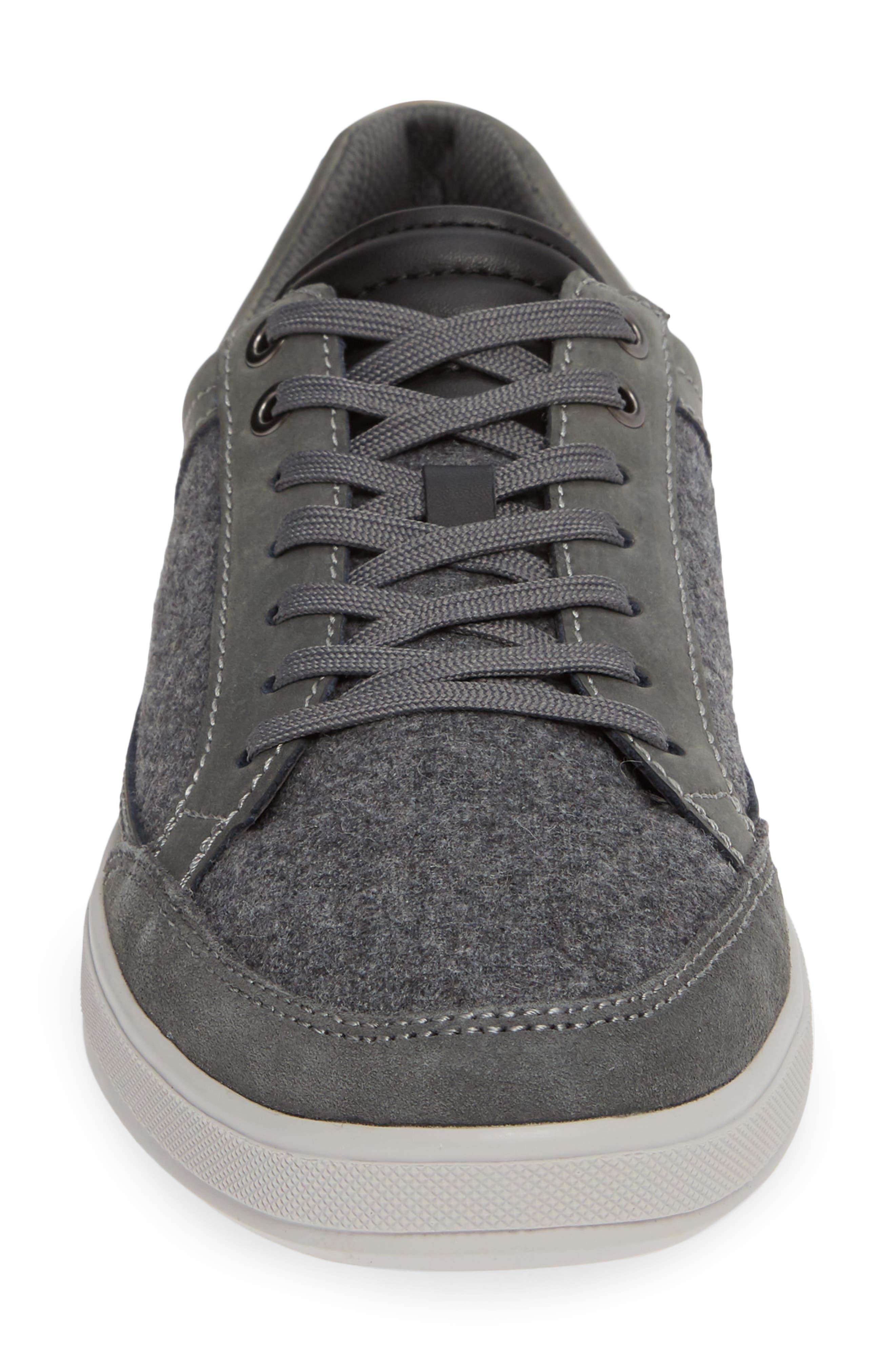 Casual Joe Sneaker,                             Alternate thumbnail 4, color,                             GREY WOOL