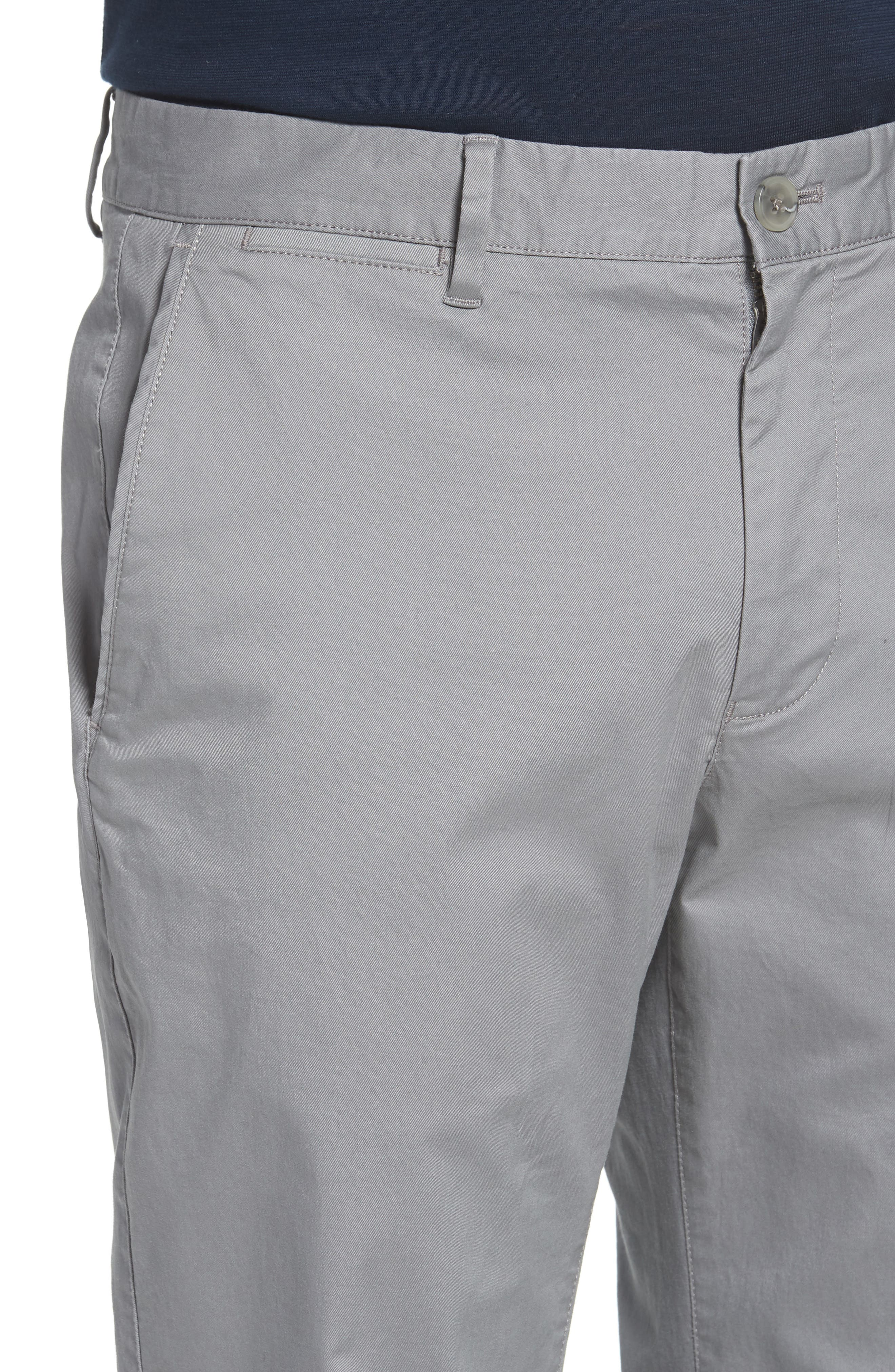 Summer Weight Slim Fit Stretch Chinos,                             Alternate thumbnail 4, color,                             020