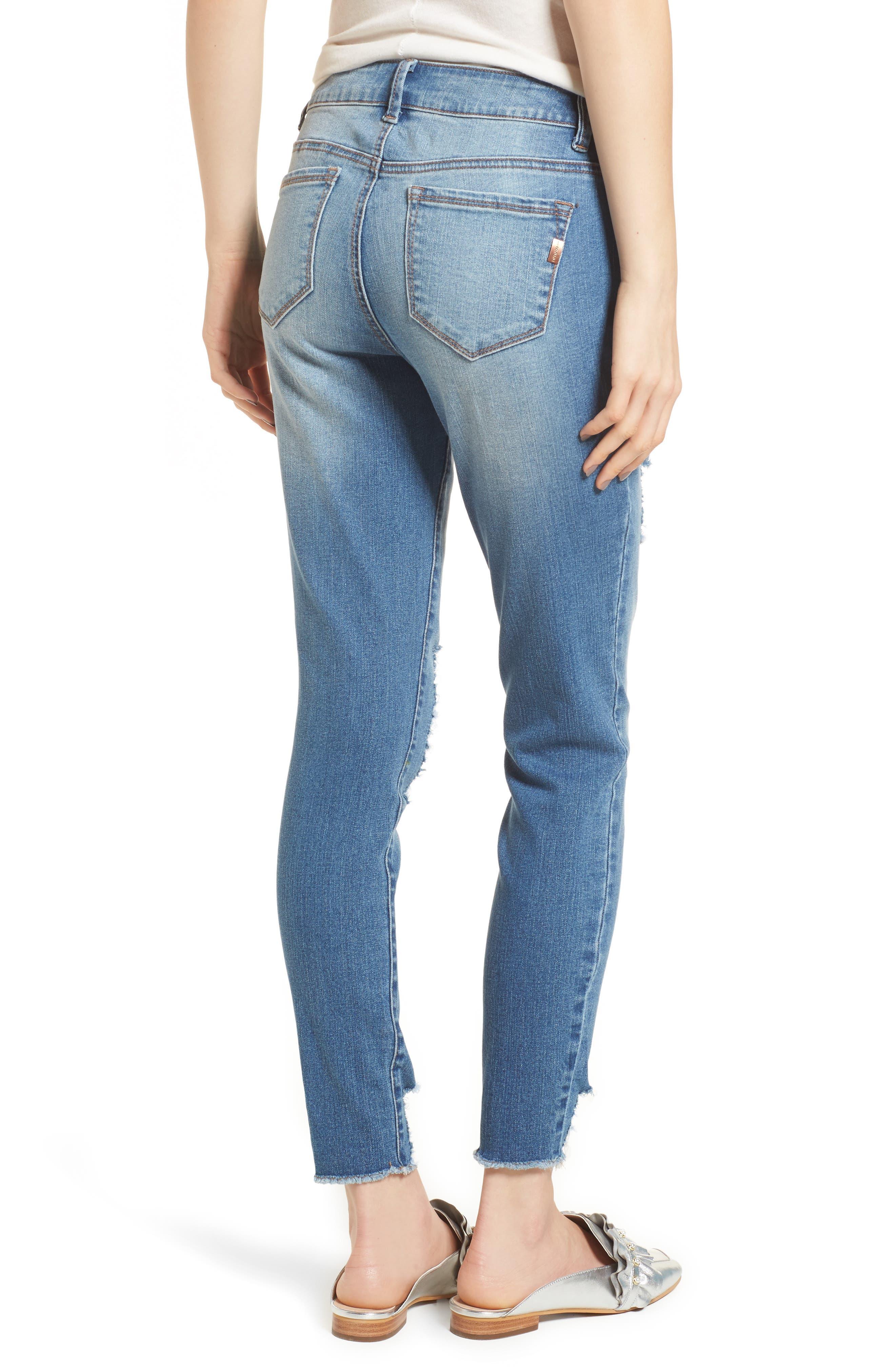 Decon Ripped Skinny Jeans,                             Alternate thumbnail 2, color,                             426