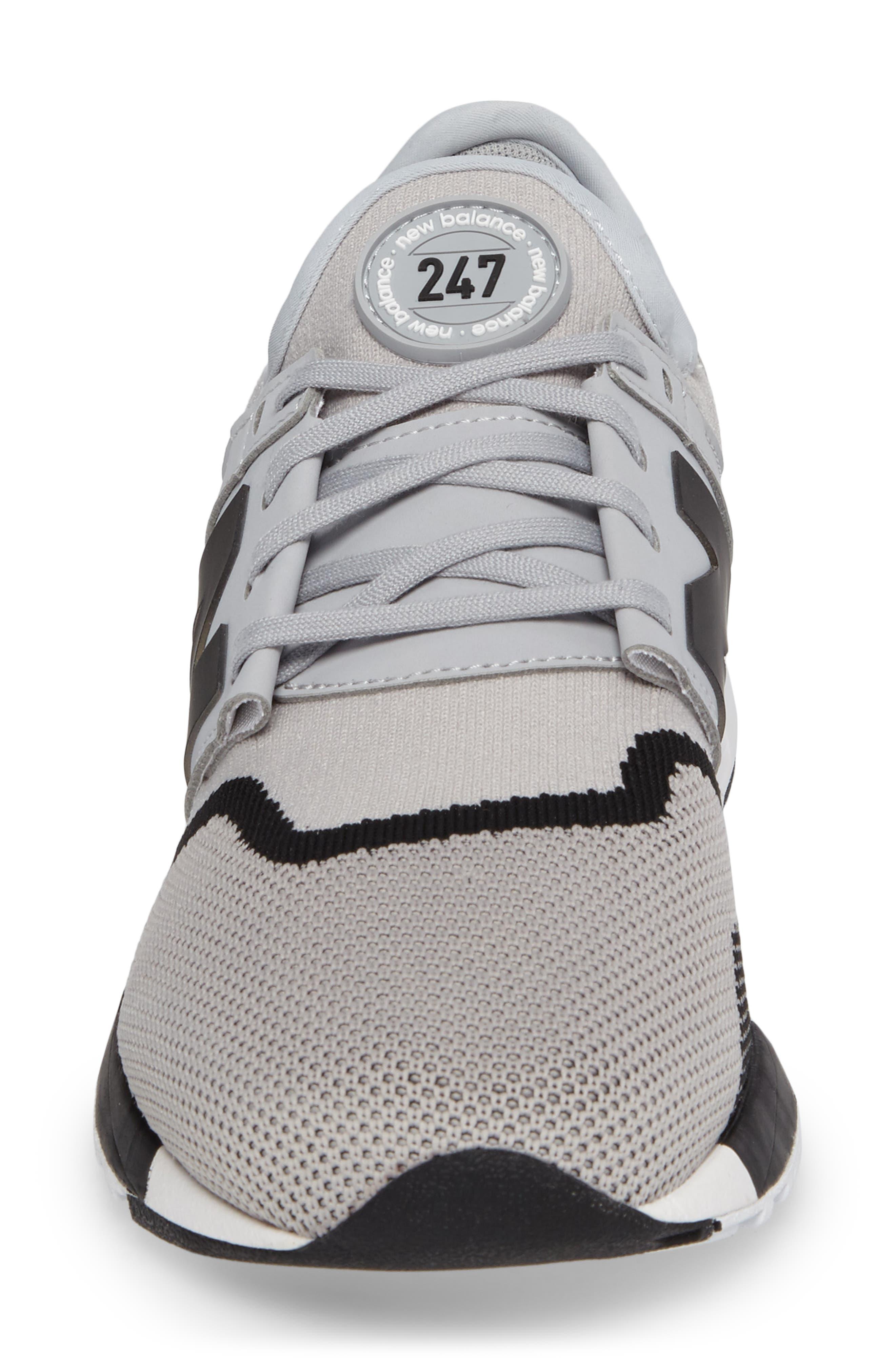 247 Sport Knit Sneaker,                             Alternate thumbnail 4, color,                             030