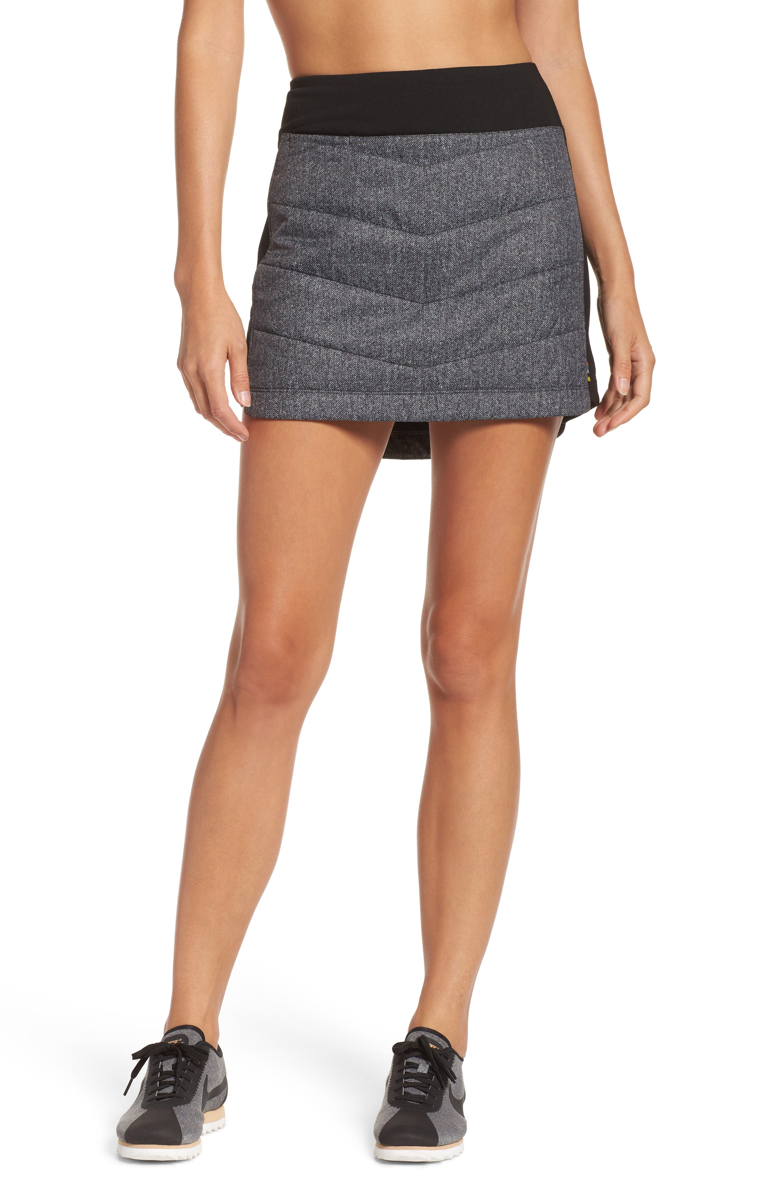 Propulsion 60 Quilted Skirt,                         Main,                         color, 001