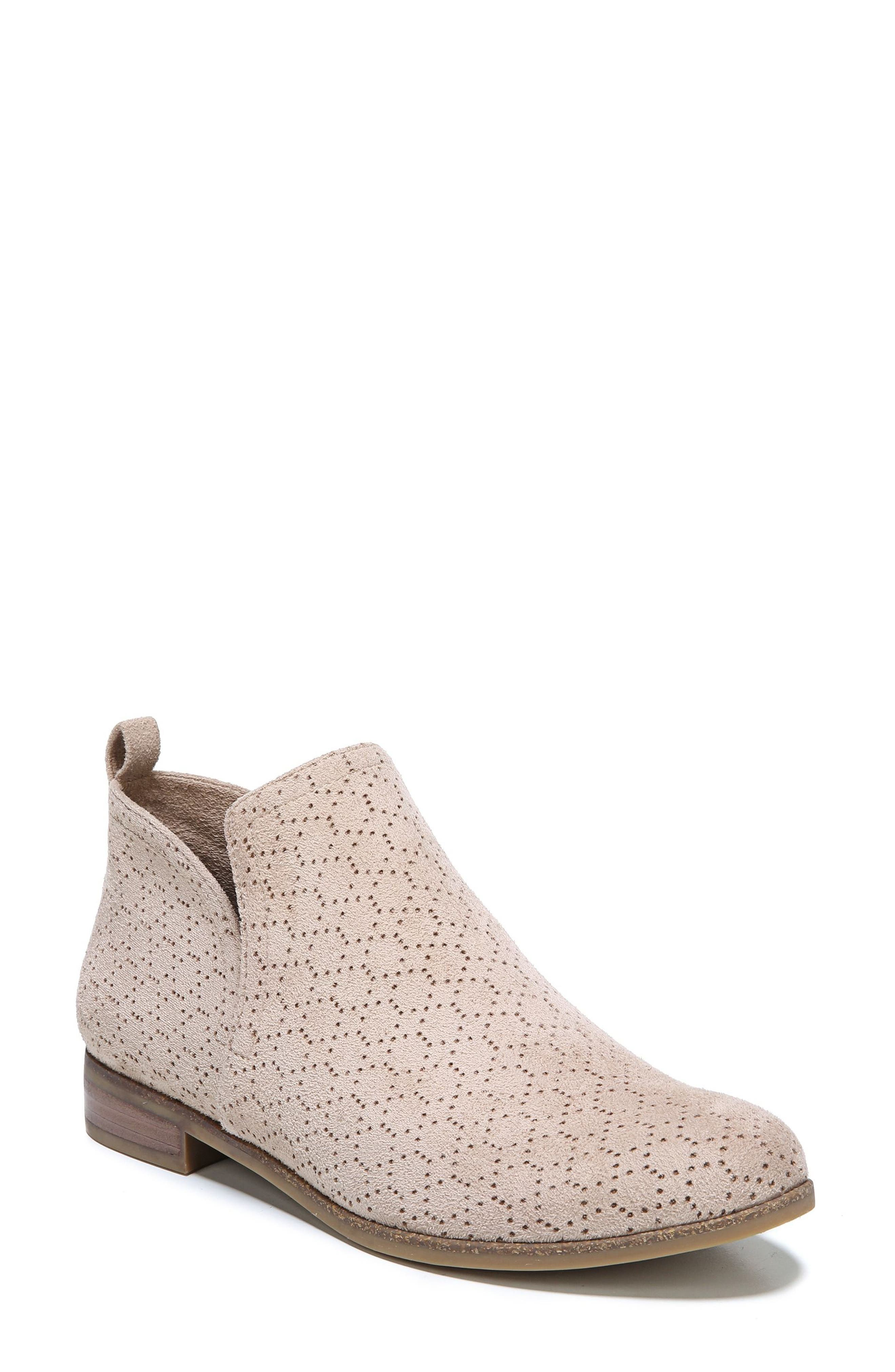 Rate Bootie,                             Main thumbnail 1, color,                             PUTTY FABRIC