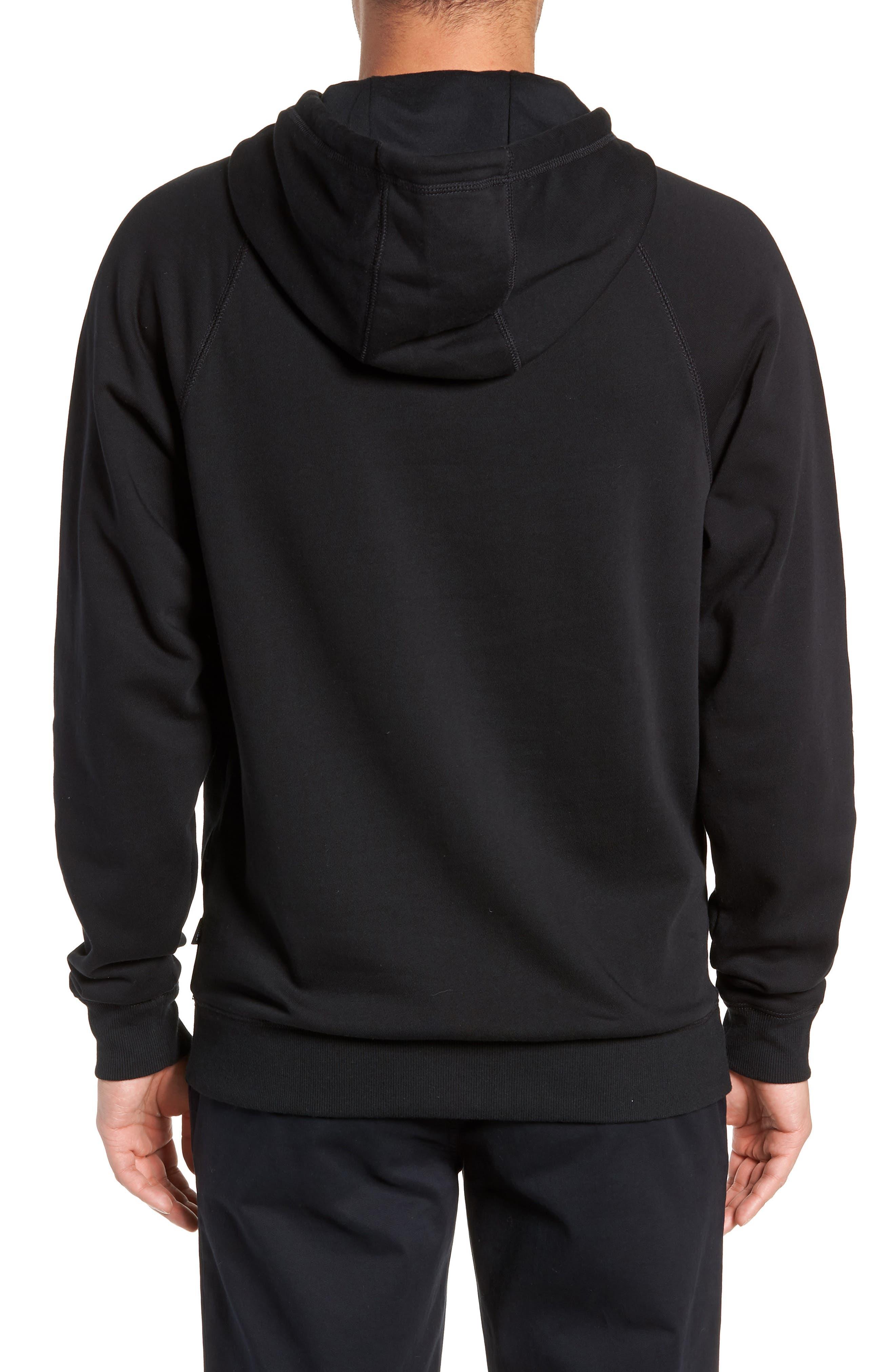 Versa Hoodie Sweatshirt,                             Alternate thumbnail 2, color,                             BLACK