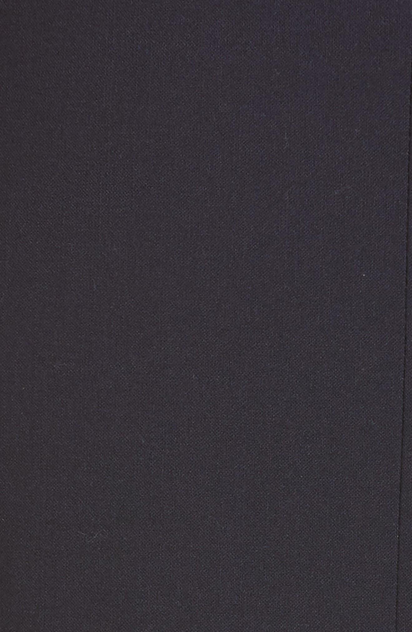 ADEAM,                             Bustier Handkerchief Dress,                             Alternate thumbnail 6, color,                             MIDNIGHT BLUE