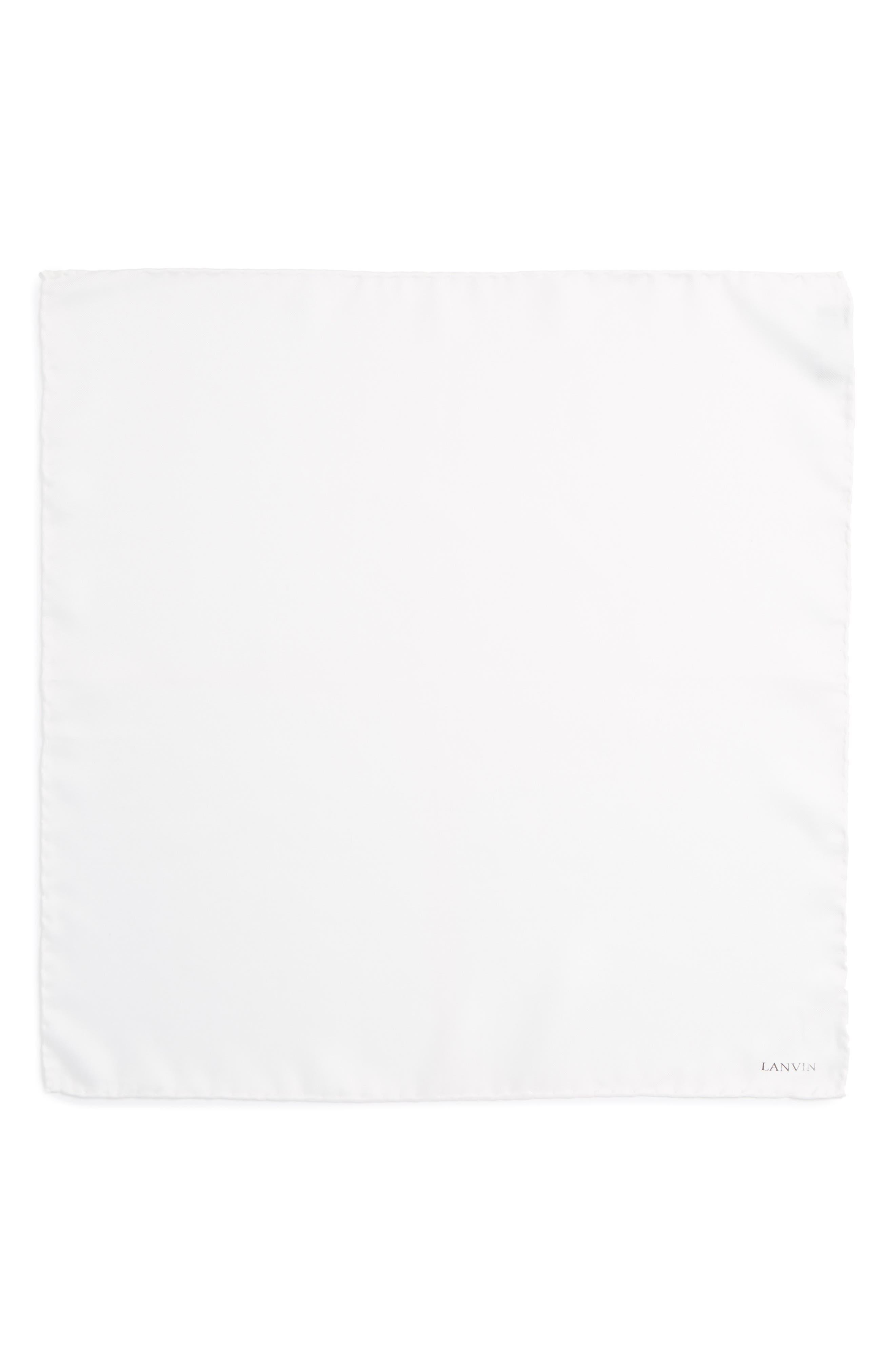 Solid Silk Pocket Square,                             Alternate thumbnail 7, color,