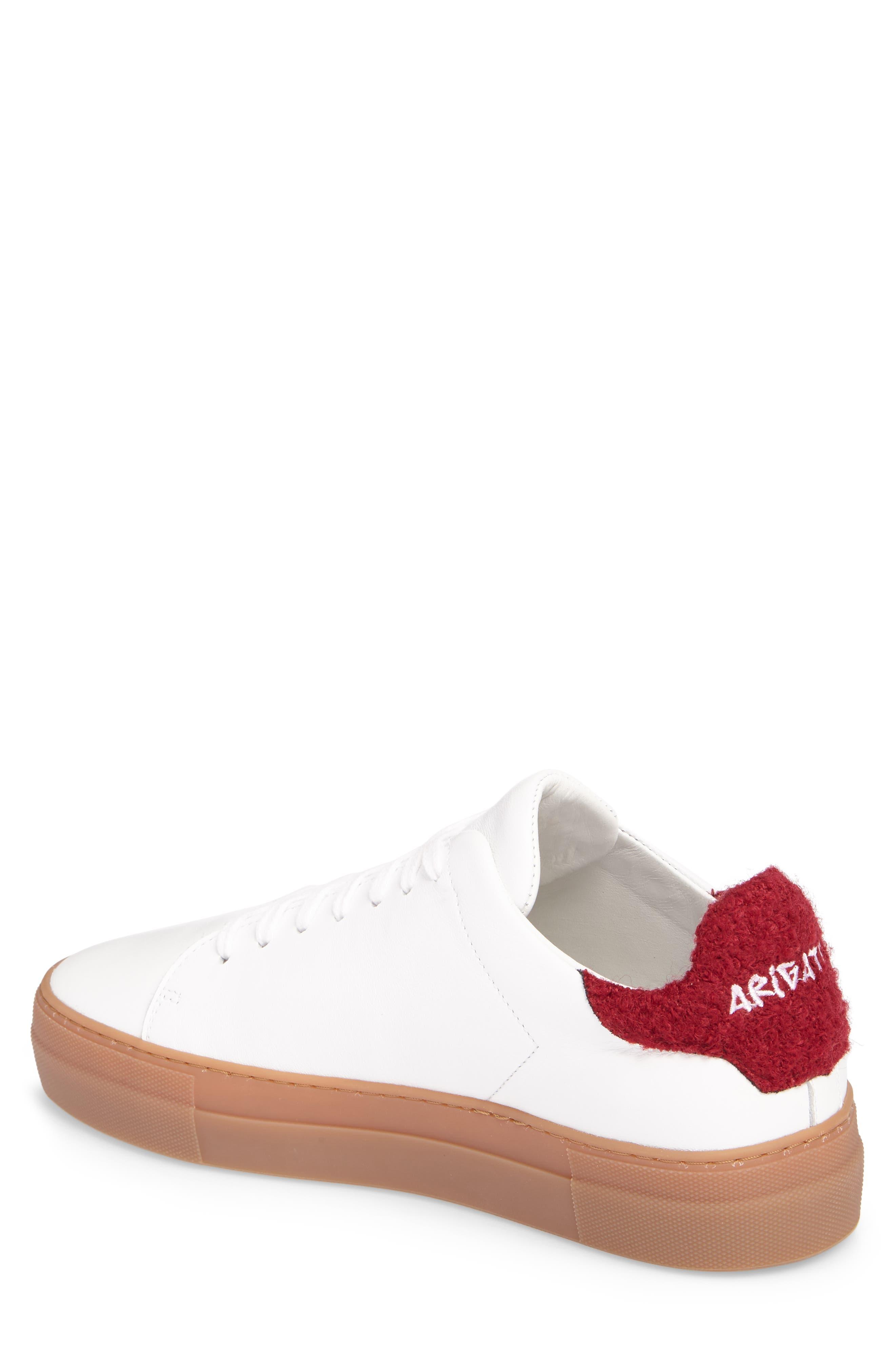Clean 360 Fuzzy Heel Sneaker,                             Alternate thumbnail 2, color,                             100