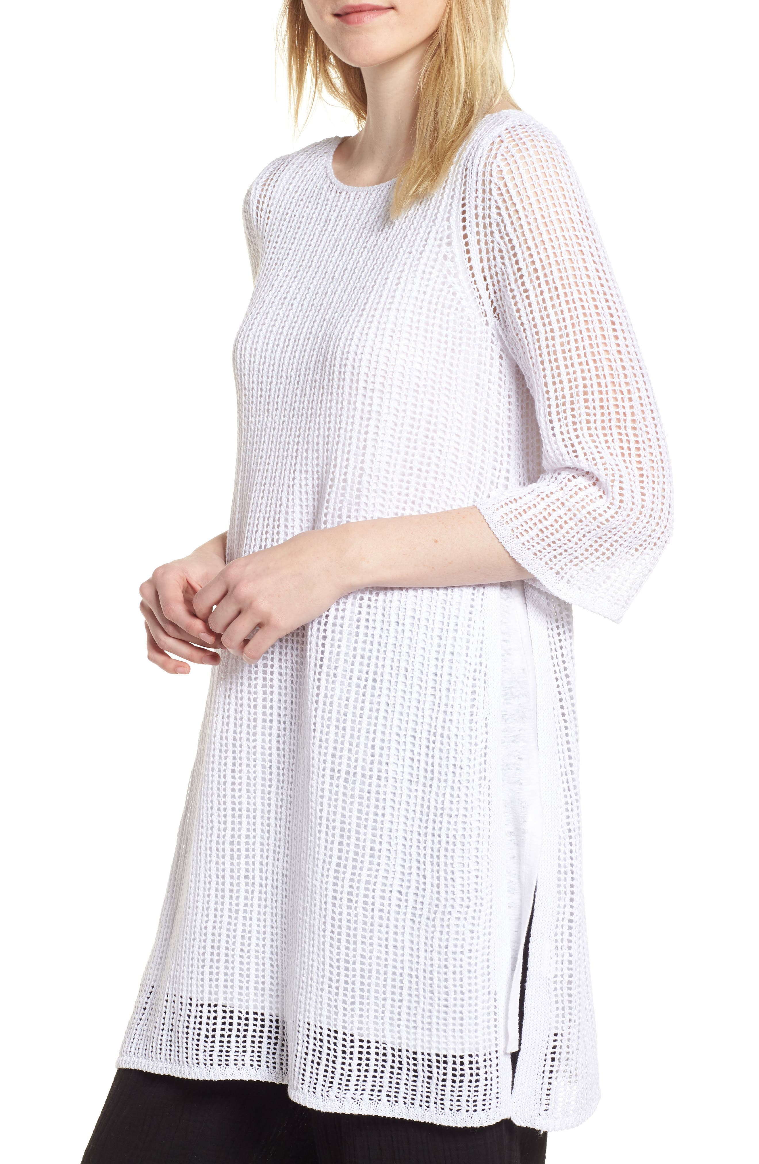 Organic Linen Tunic,                             Main thumbnail 1, color,