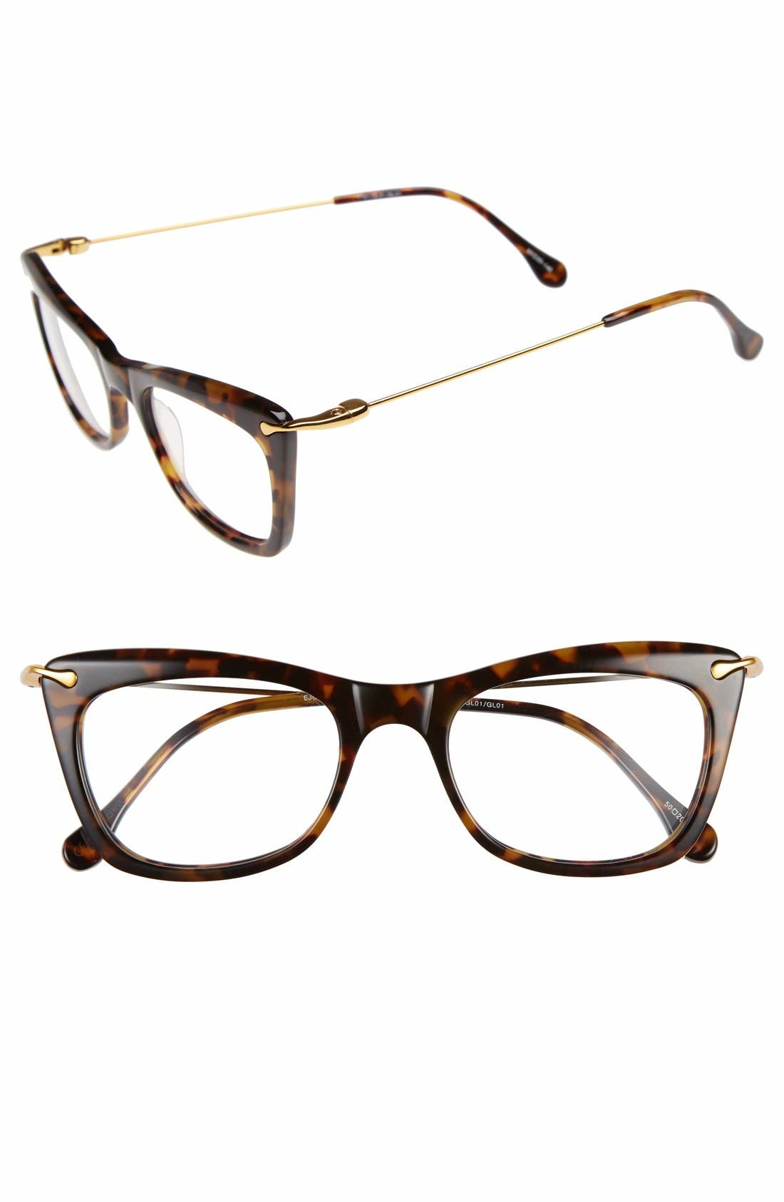 'Chrystie' 50mm Optical Glasses,                             Main thumbnail 2, color,