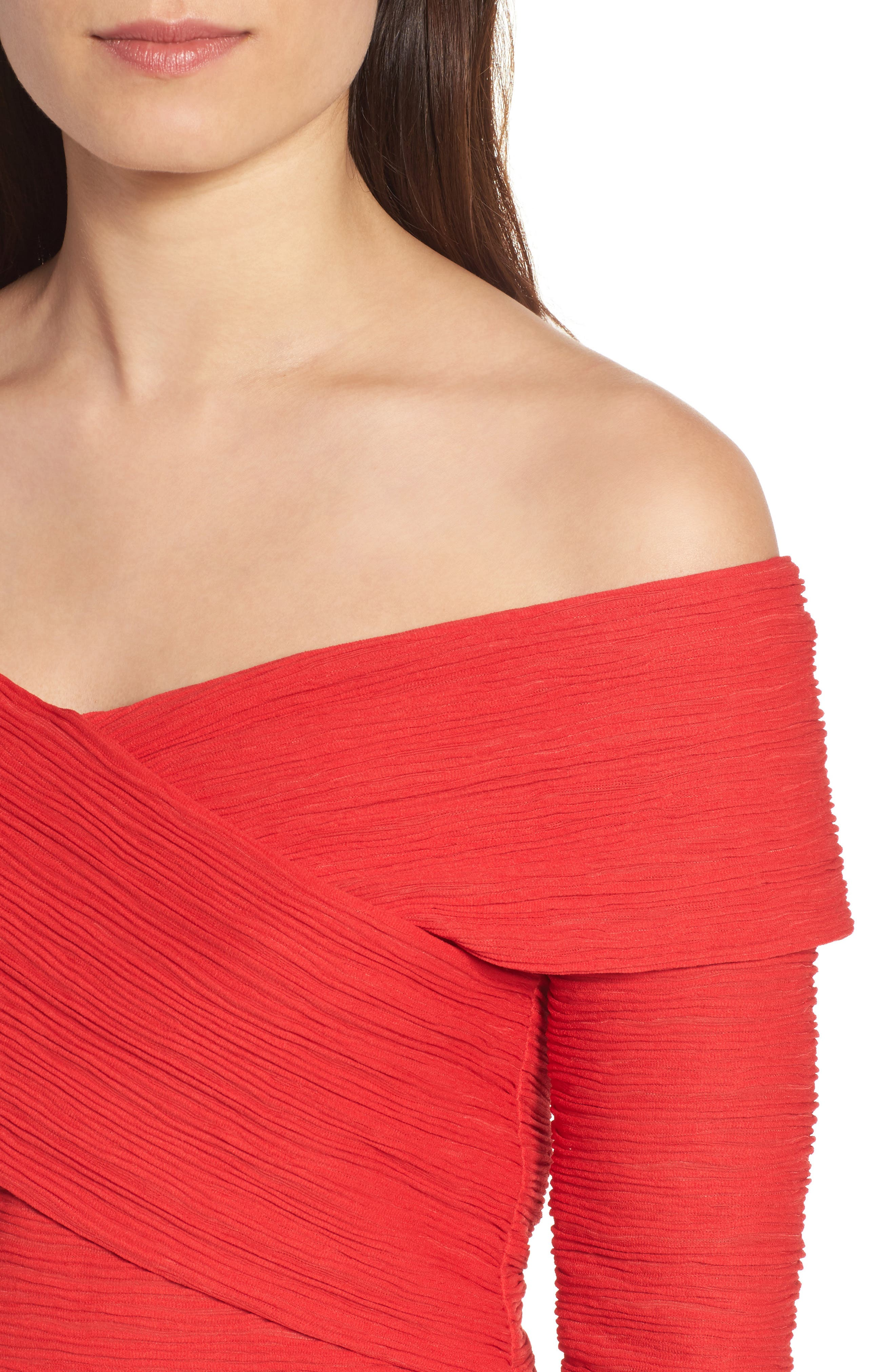 Crossover Stripe Top,                             Alternate thumbnail 4, color,                             610